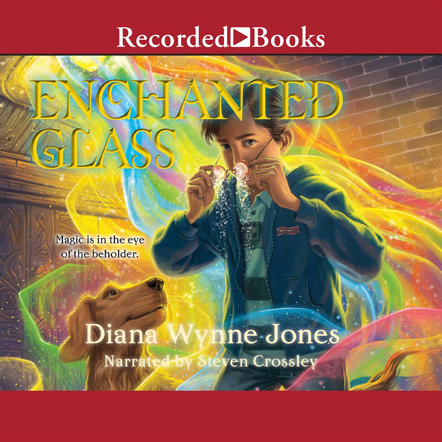 Printable Enchanted Glass Audiobook Cover Art