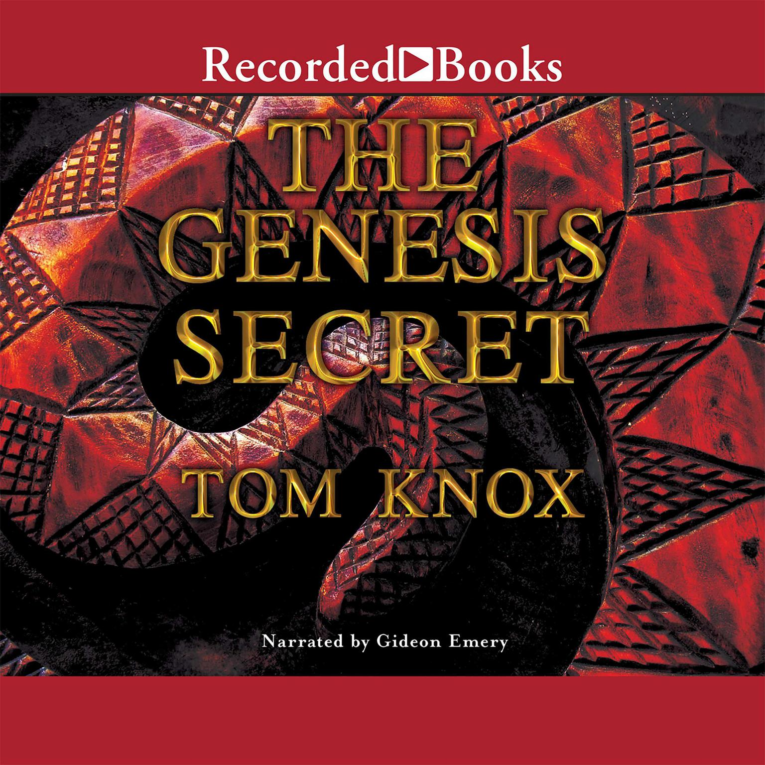Printable The Genesis Secret Audiobook Cover Art