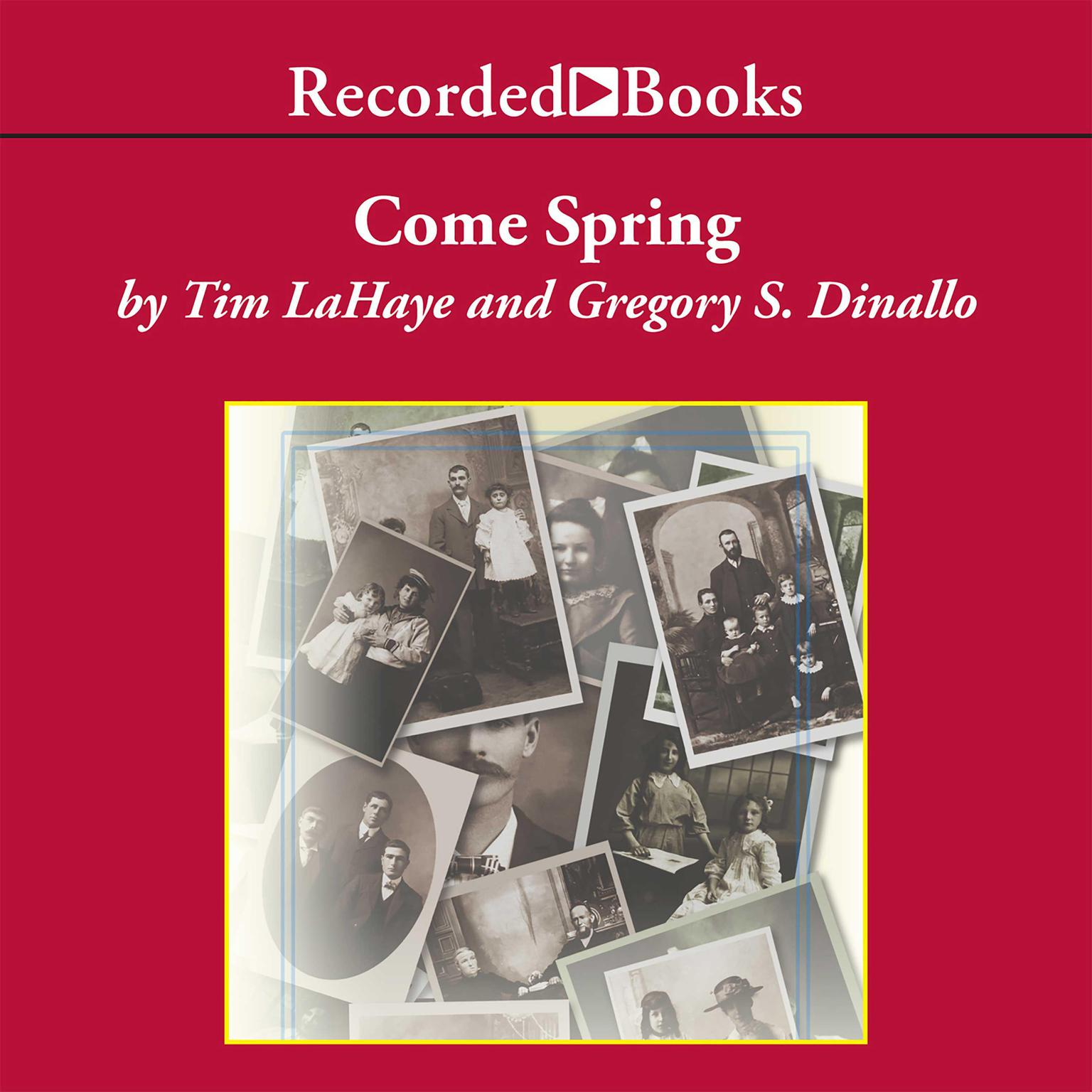 Printable Come Spring Audiobook Cover Art