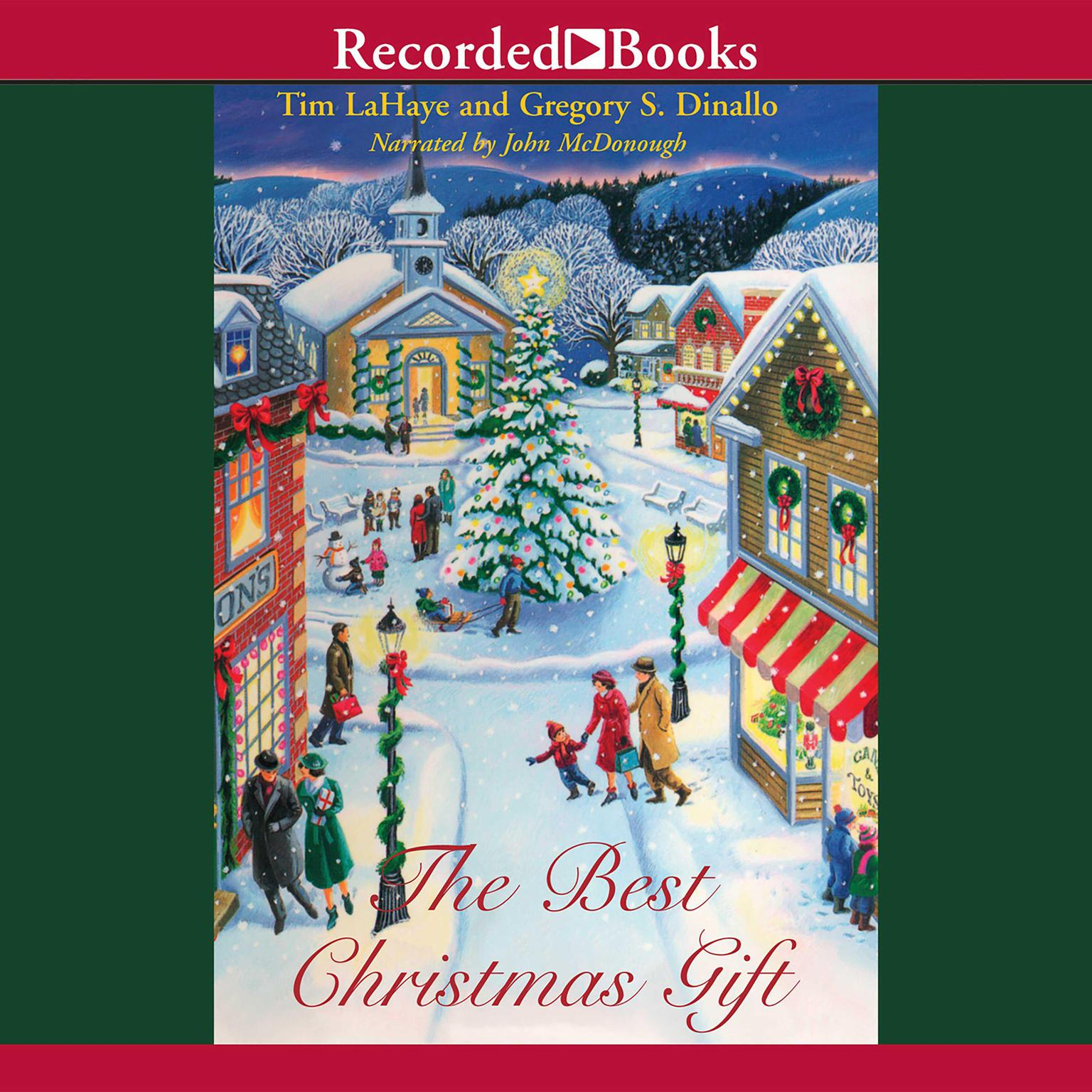 Printable The Best Christmas Gift Audiobook Cover Art