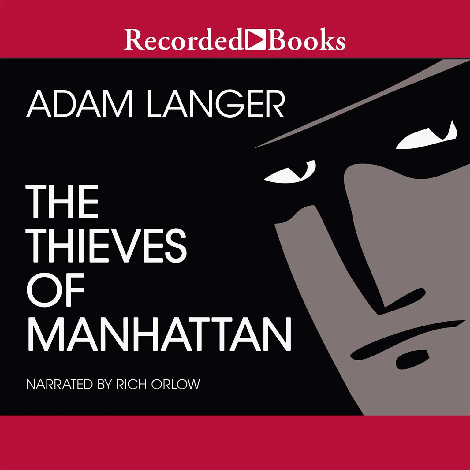 Printable The Thieves of Manhattan Audiobook Cover Art