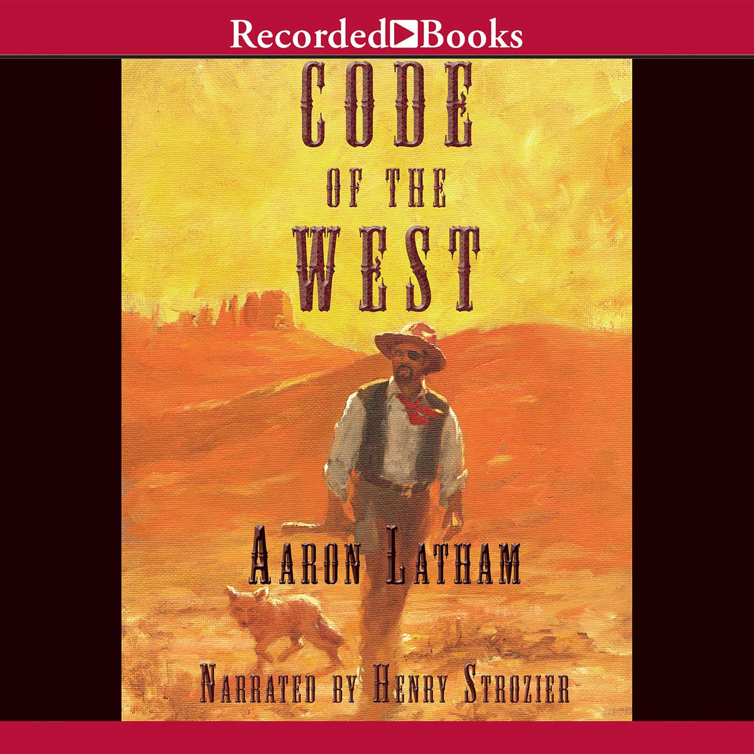 Printable Code of the West Audiobook Cover Art