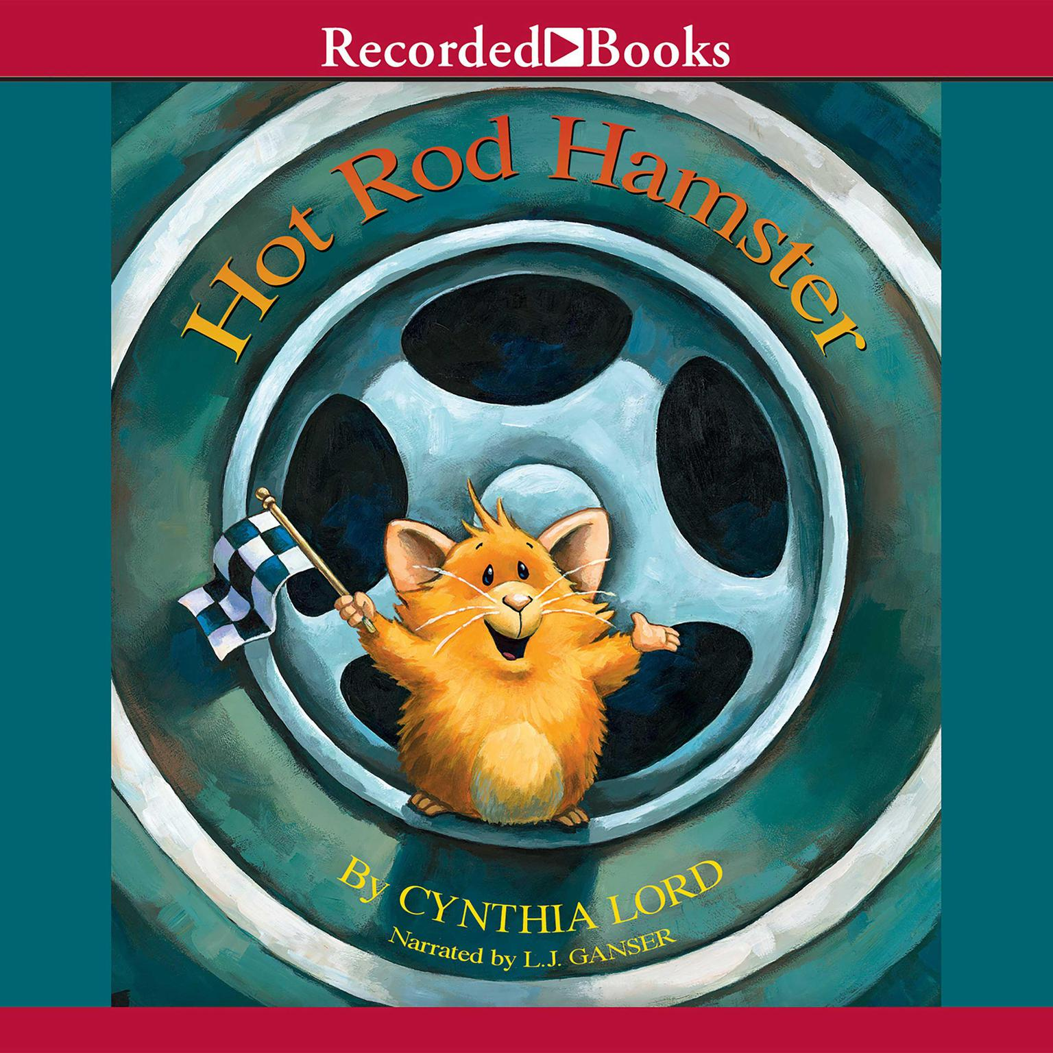 Printable Hot Rod Hamster Audiobook Cover Art