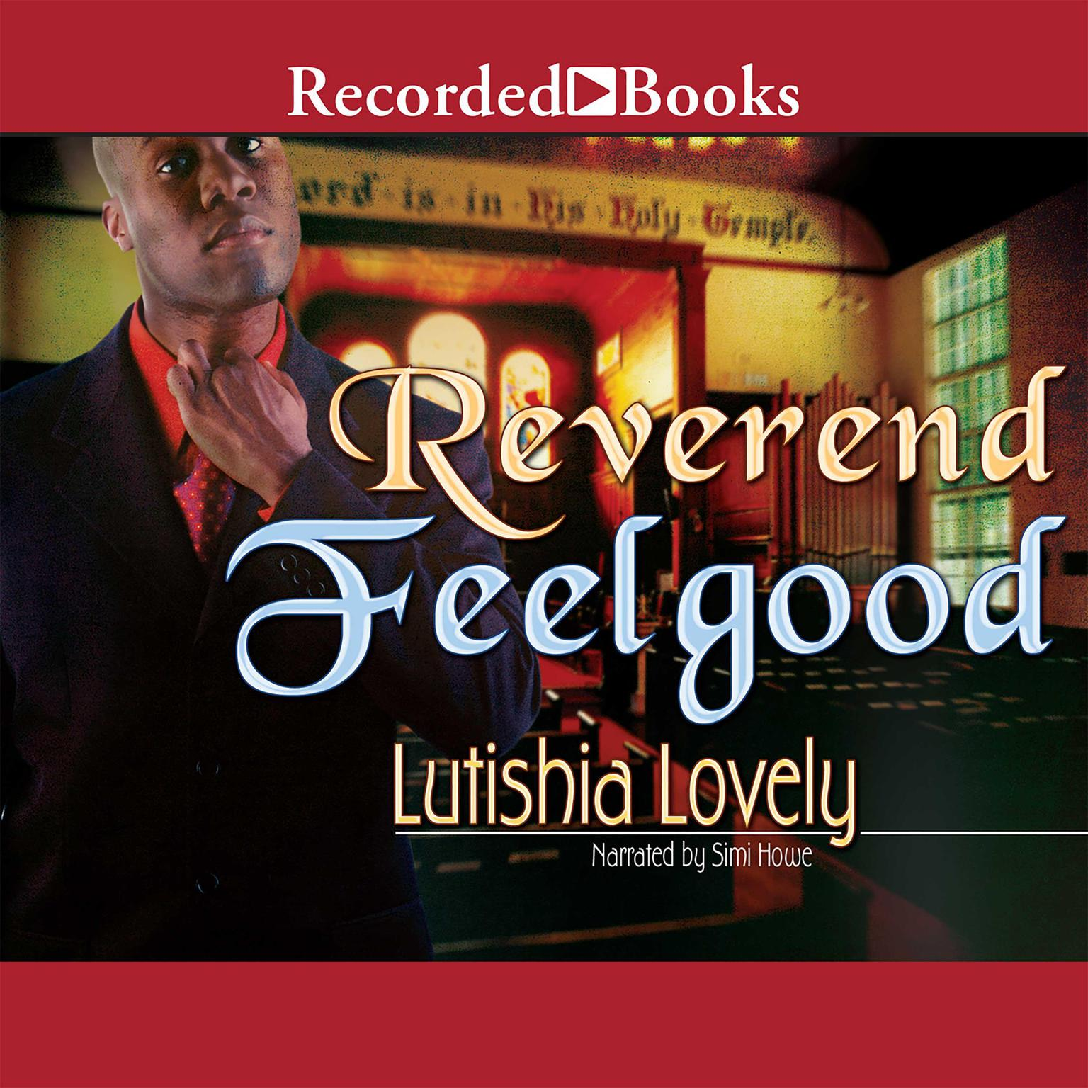Printable Reverend Feelgood Audiobook Cover Art