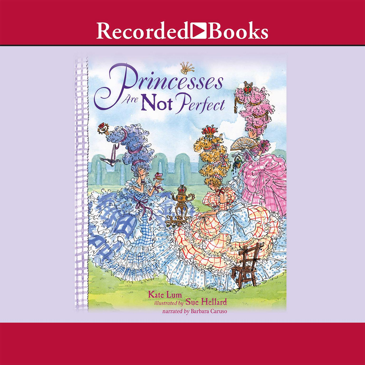 Printable Princesses Are Not Perfect Audiobook Cover Art