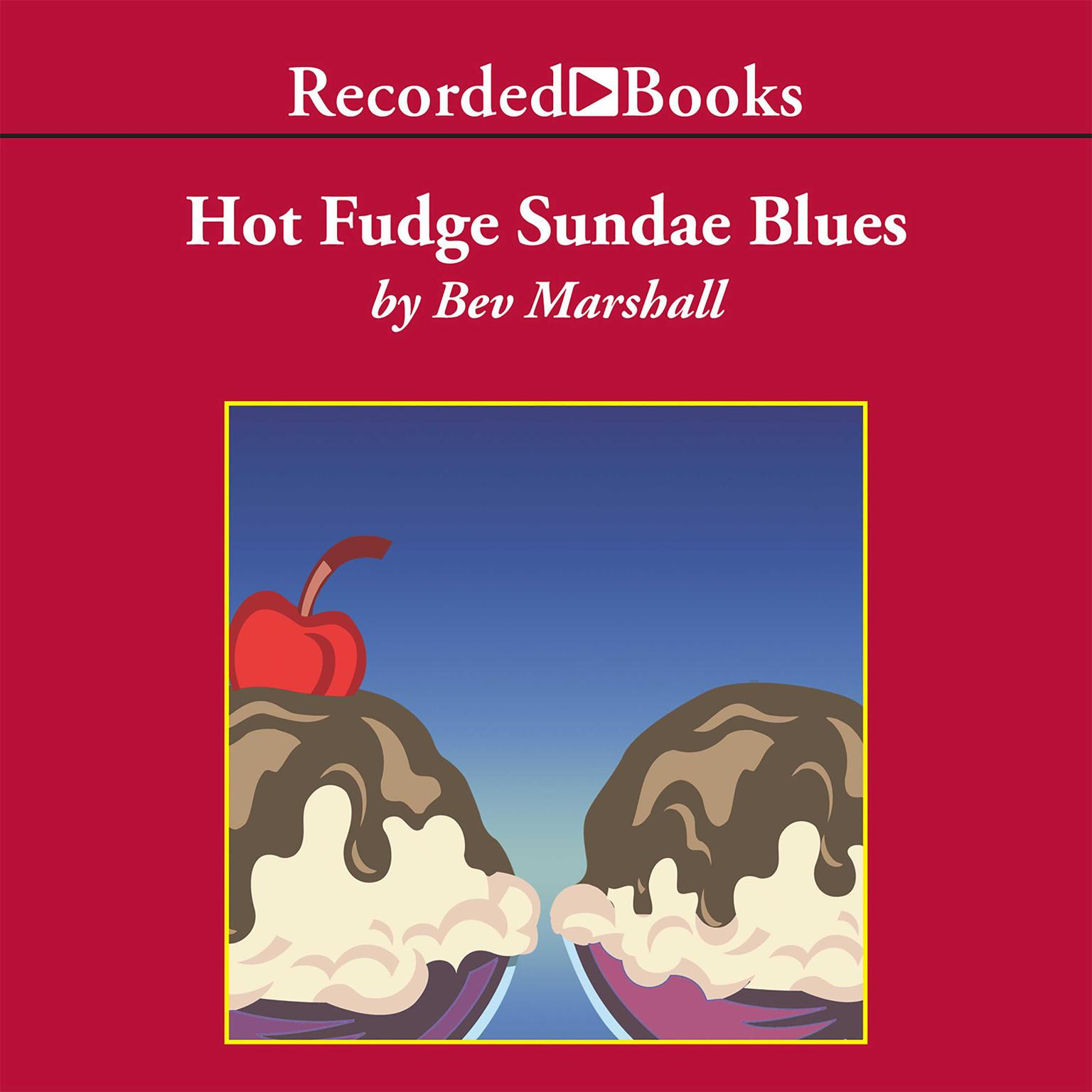Printable Hot Fudge Sundae Blues Audiobook Cover Art