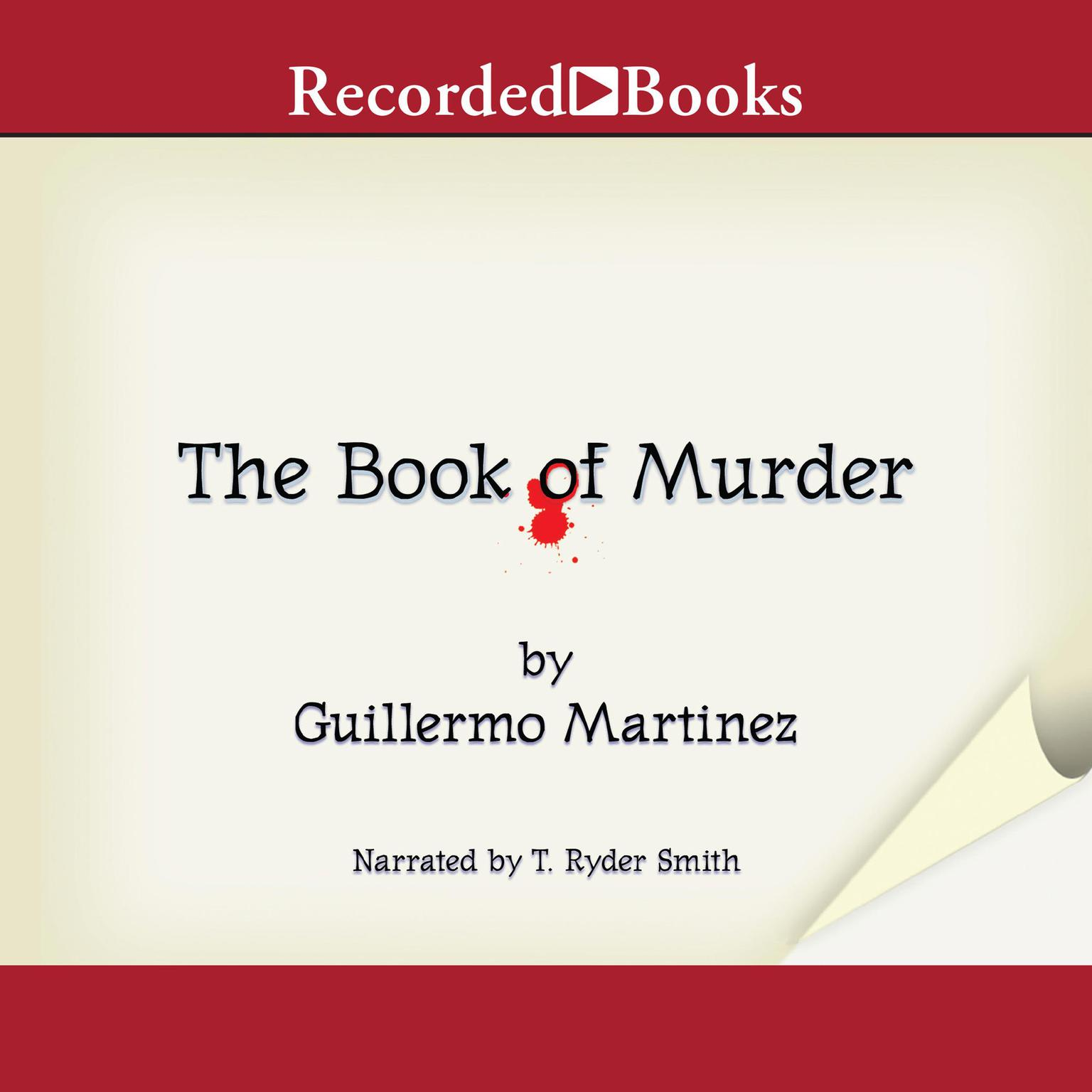 Printable The Book of Murder Audiobook Cover Art