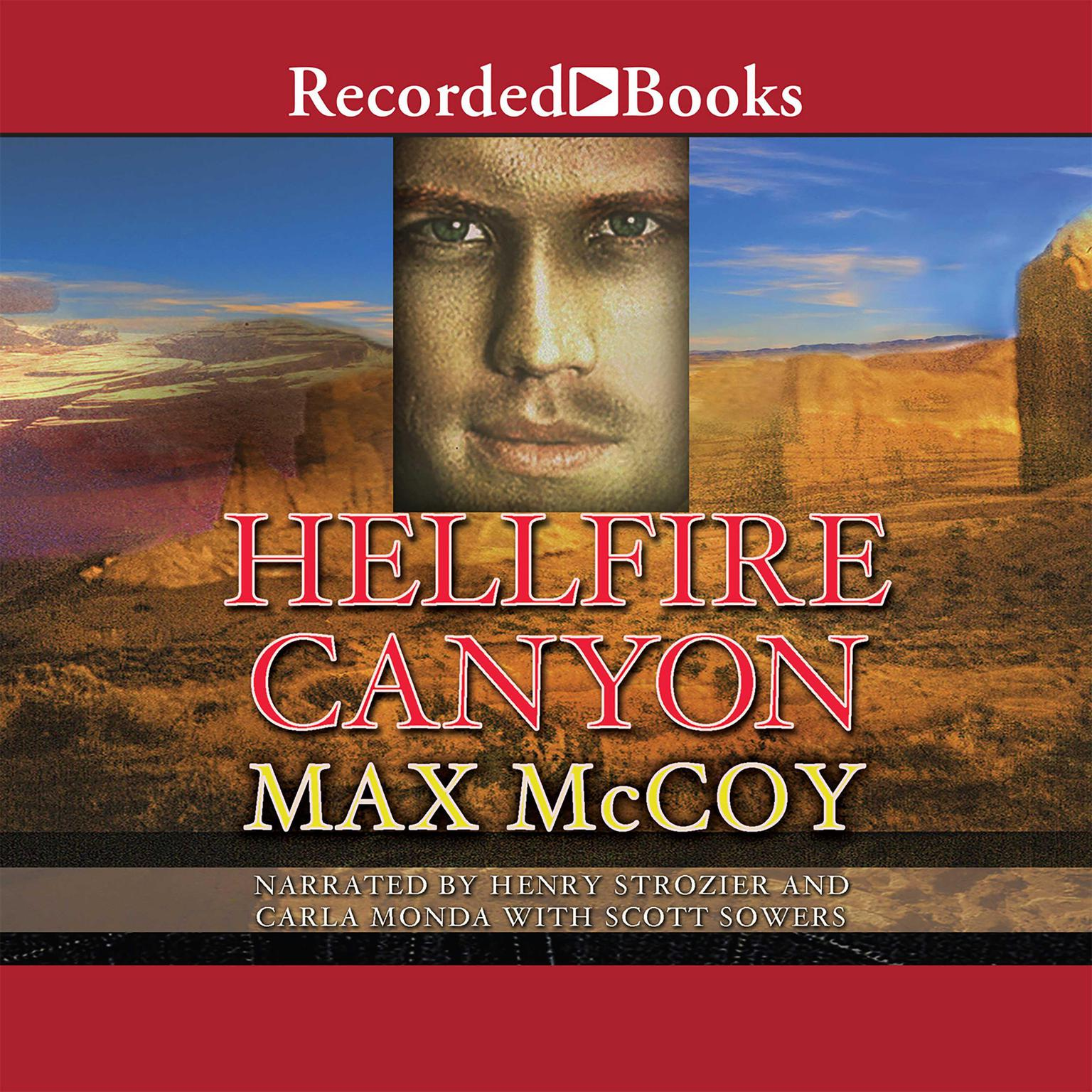 Printable Hellfire Canyon Audiobook Cover Art