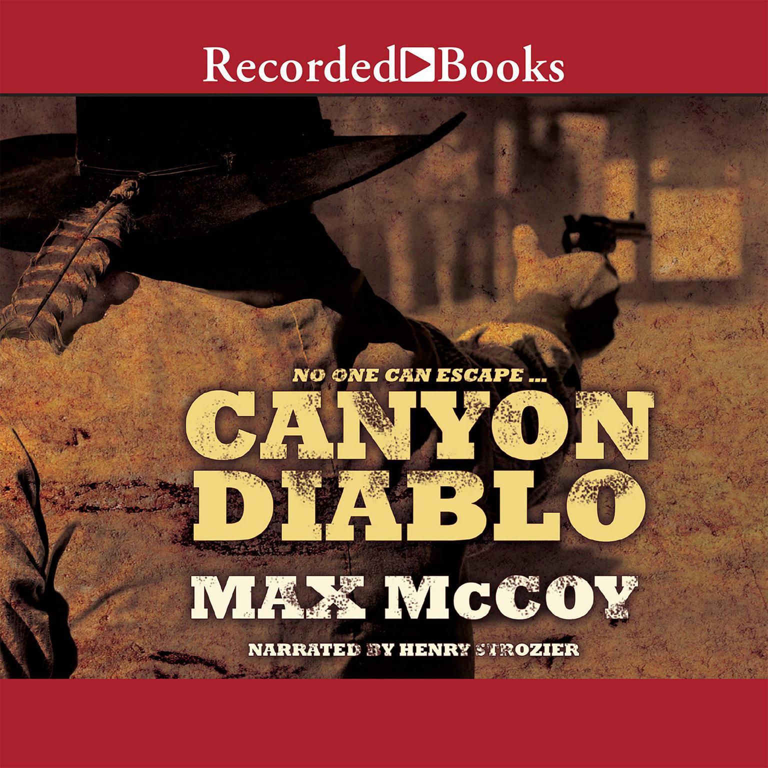Printable Canyon Diablo Audiobook Cover Art
