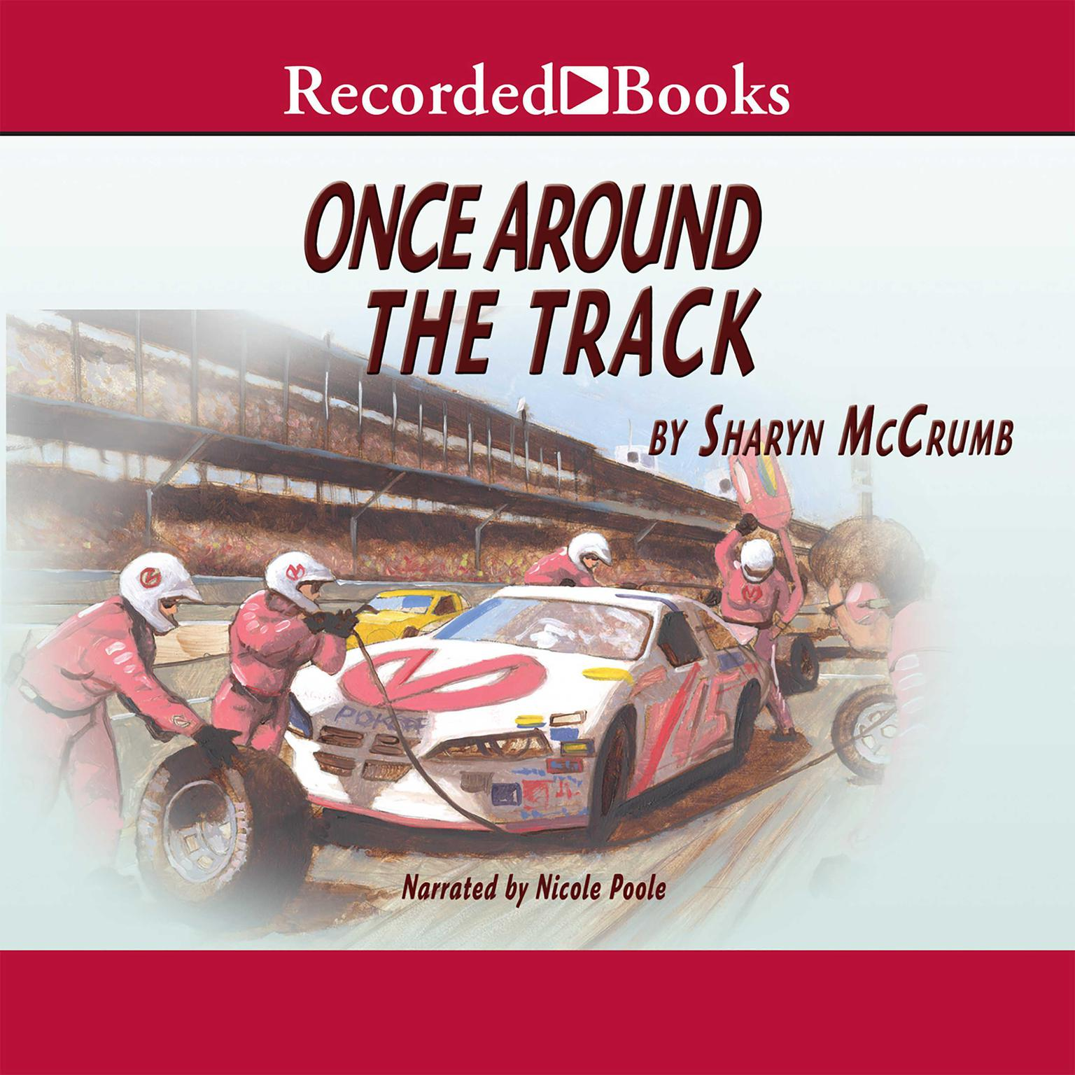 Printable Once around the Track Audiobook Cover Art