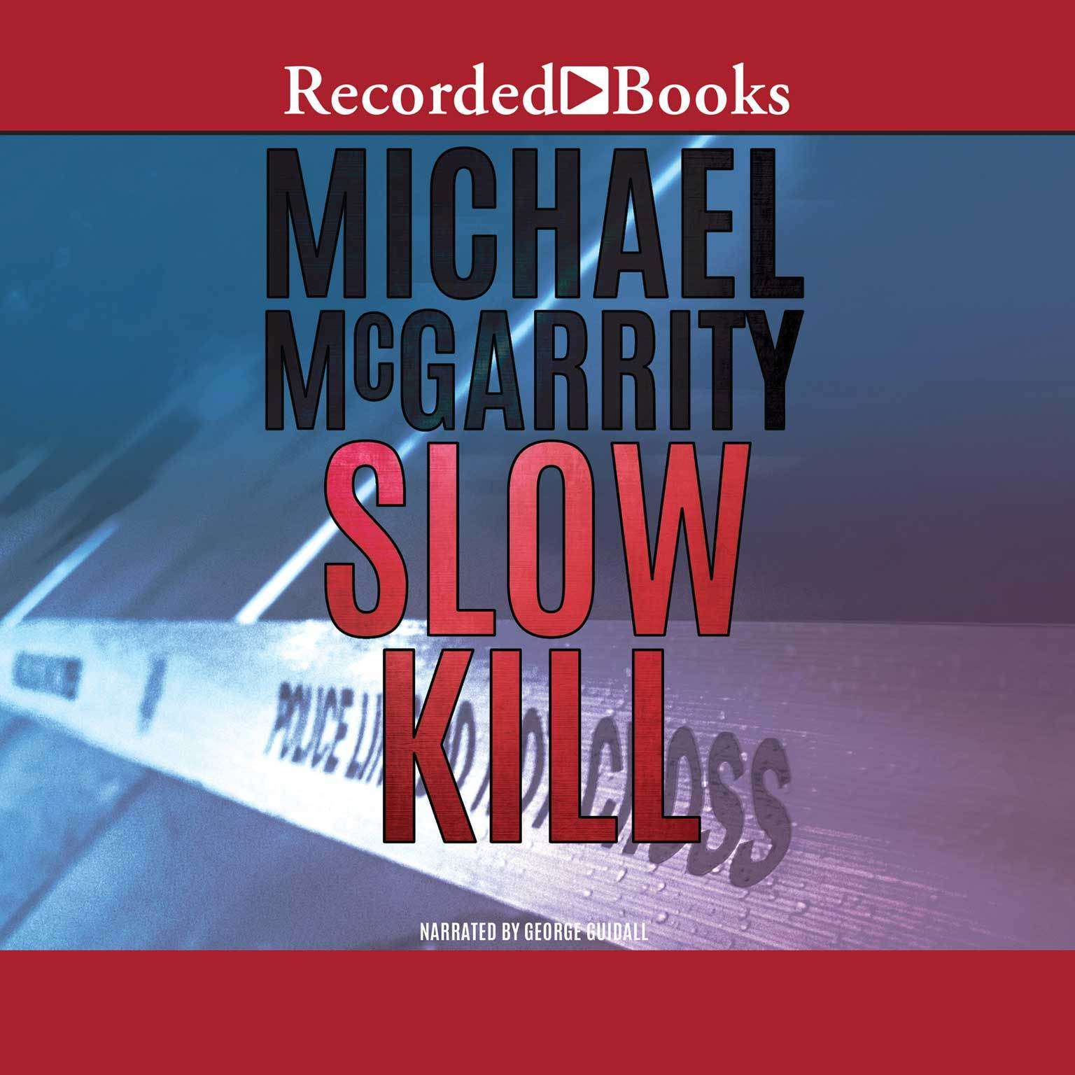 Printable Slow Kill Audiobook Cover Art
