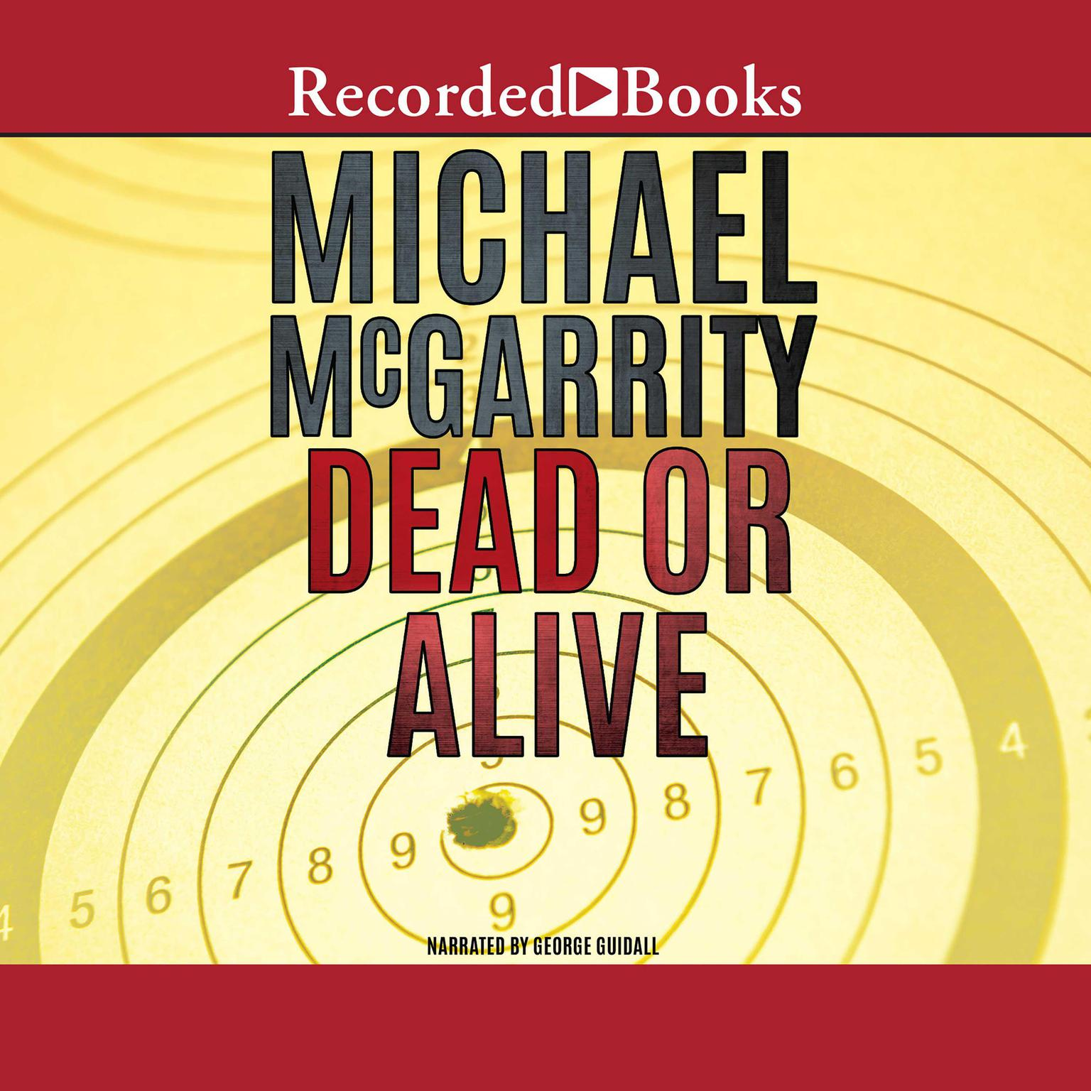 Printable Dead or Alive Audiobook Cover Art
