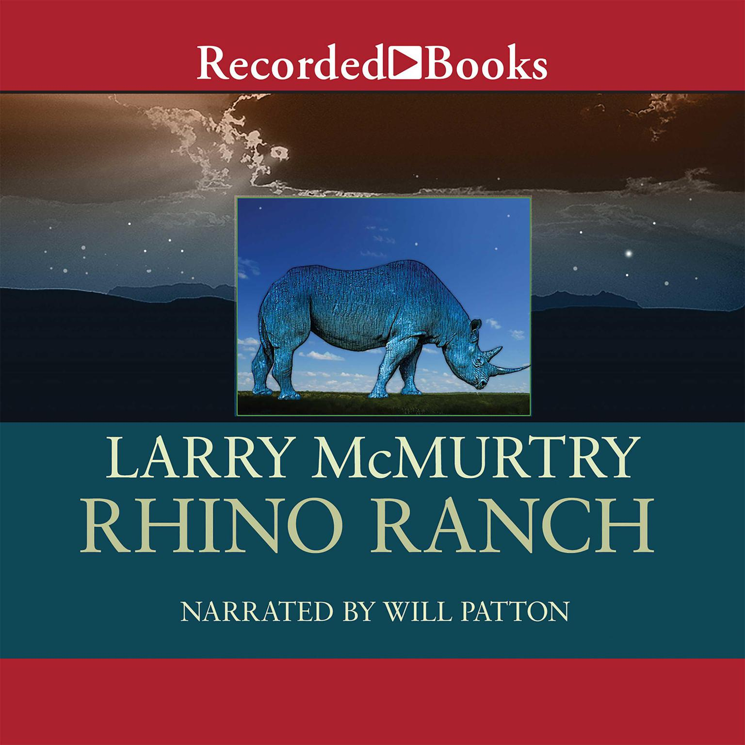 Printable Rhino Ranch Audiobook Cover Art