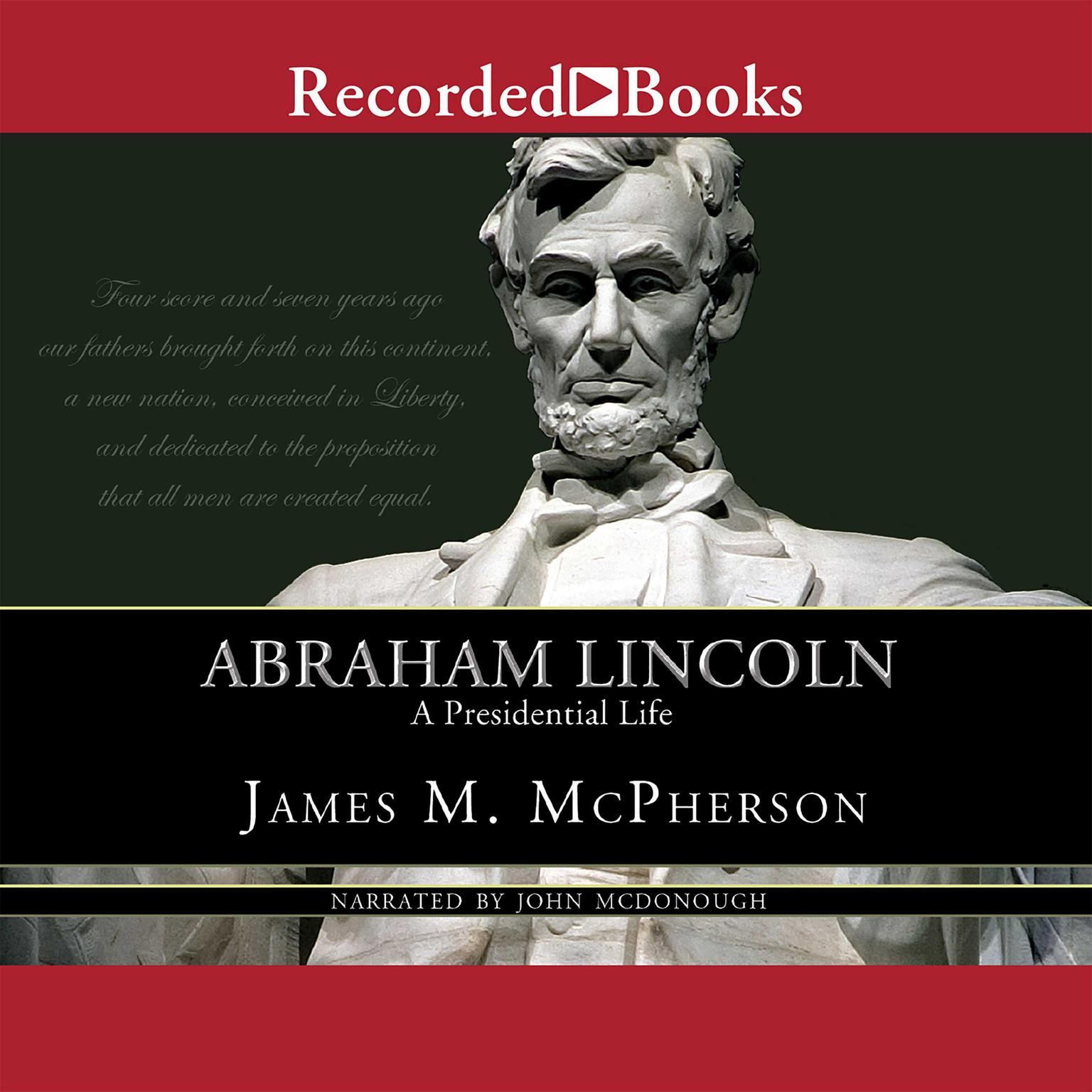 Printable Abraham Lincoln Audiobook Cover Art