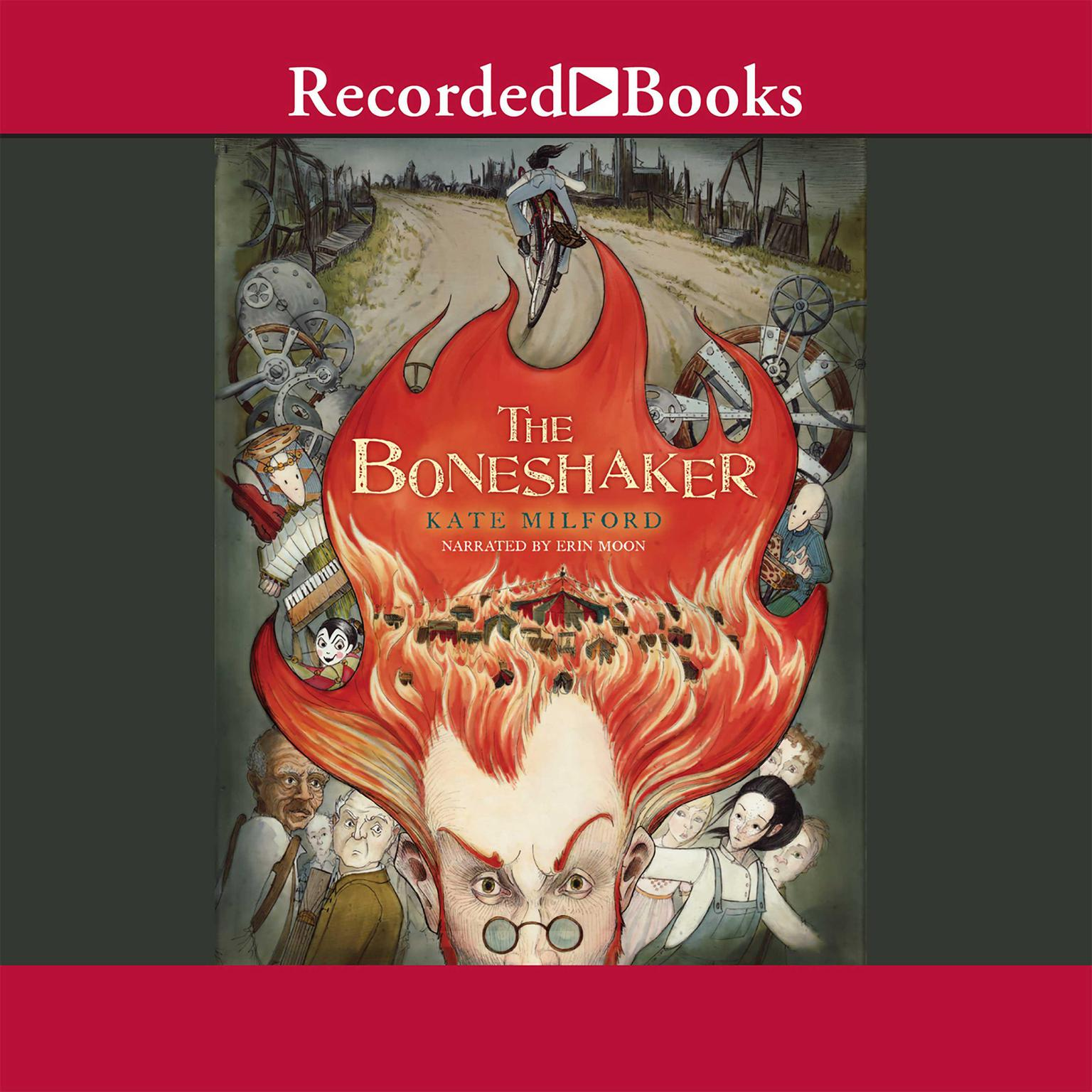Printable The Boneshaker Audiobook Cover Art