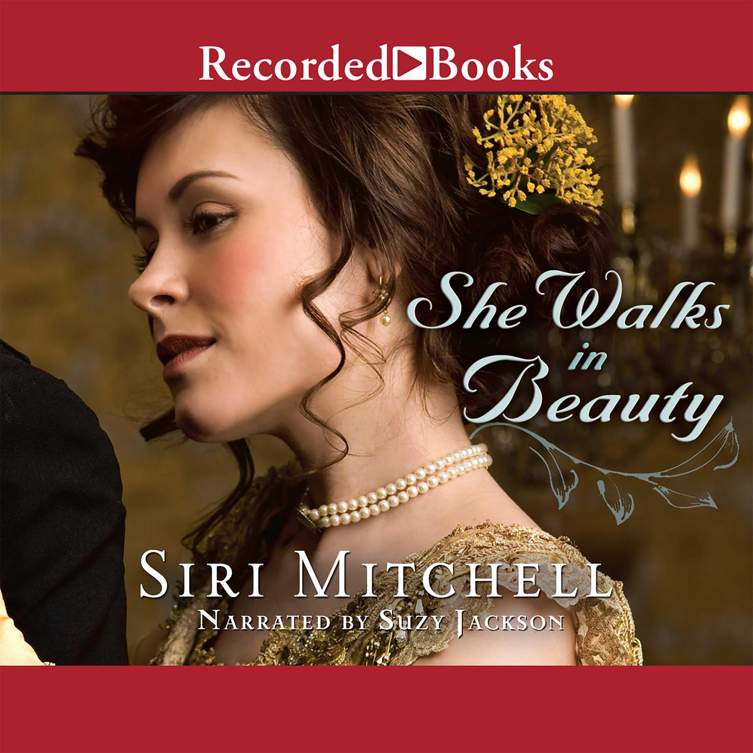Printable She Walks in Beauty Audiobook Cover Art