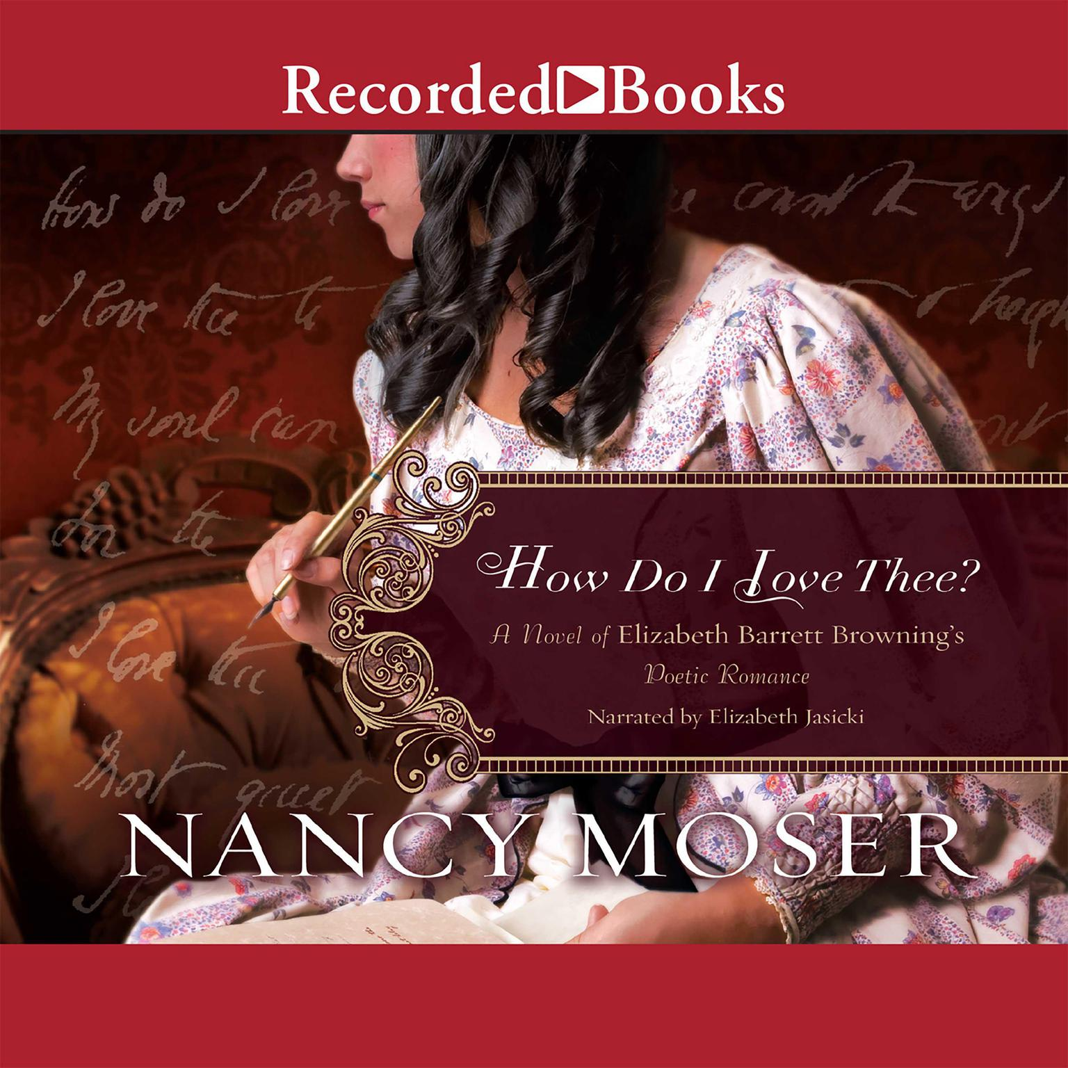 Printable How Do I Love Thee? Audiobook Cover Art