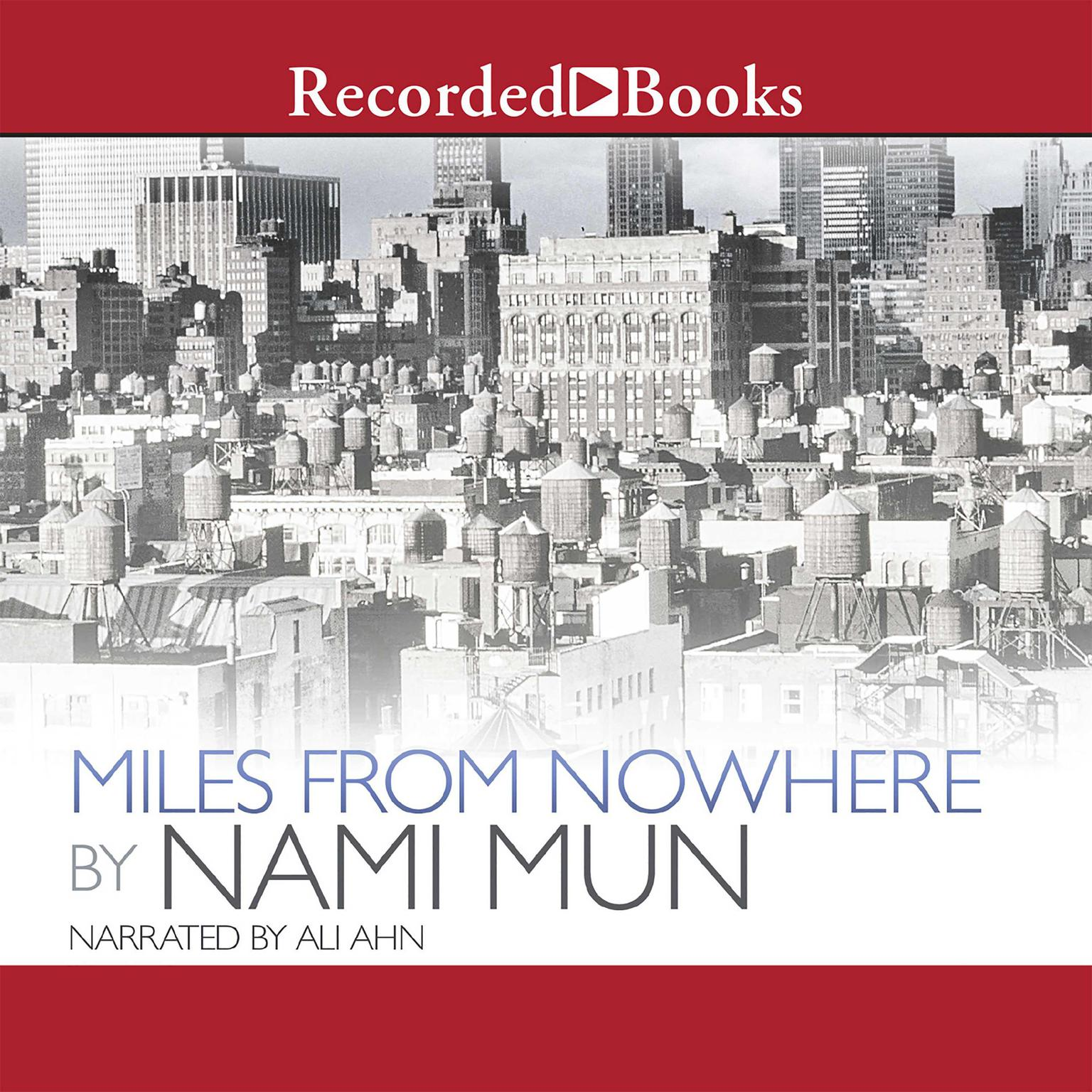 Printable Miles from Nowhere Audiobook Cover Art