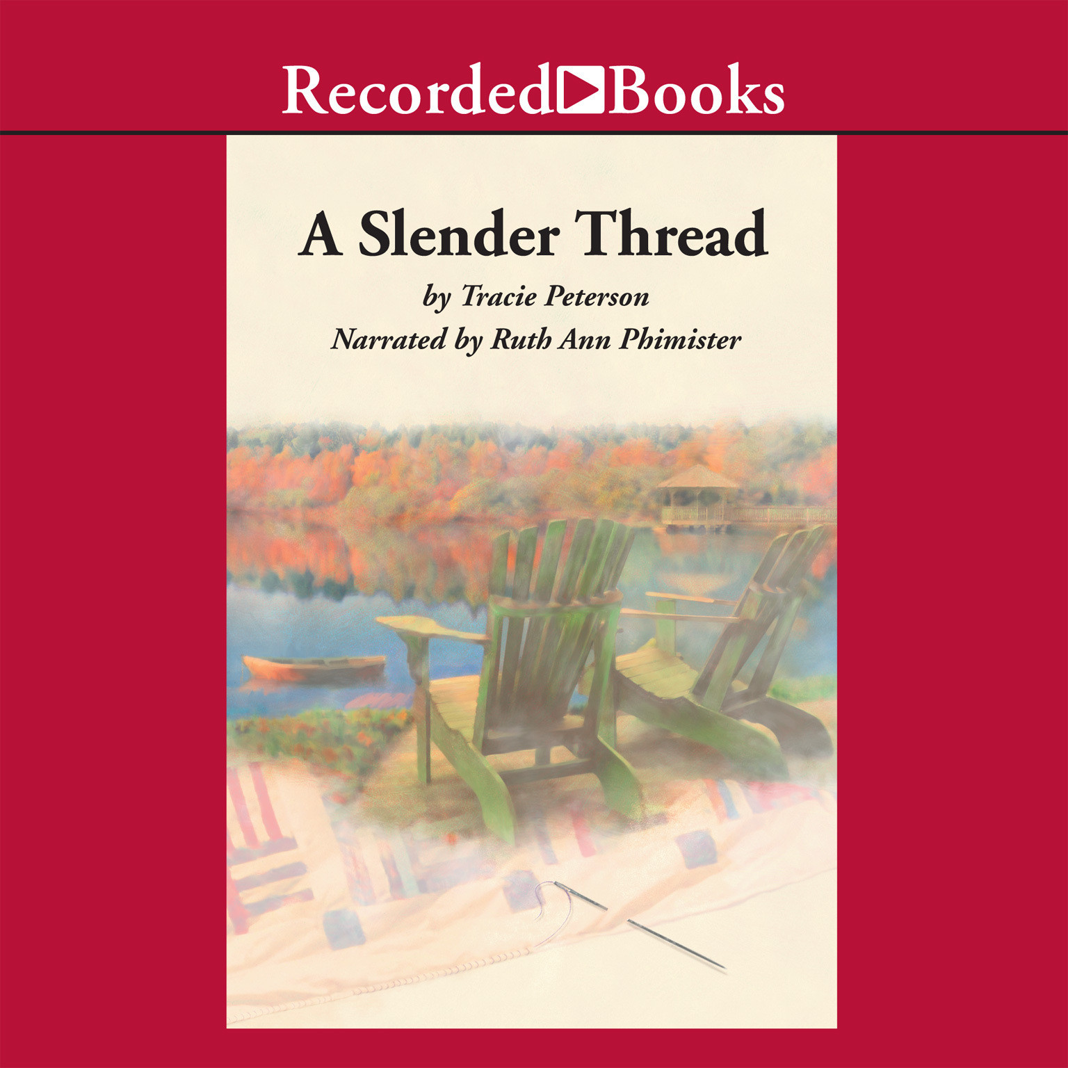 Printable A Slender Thread Audiobook Cover Art
