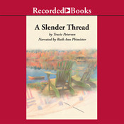 A Slender Thread Audiobook, by Tracie Peterson