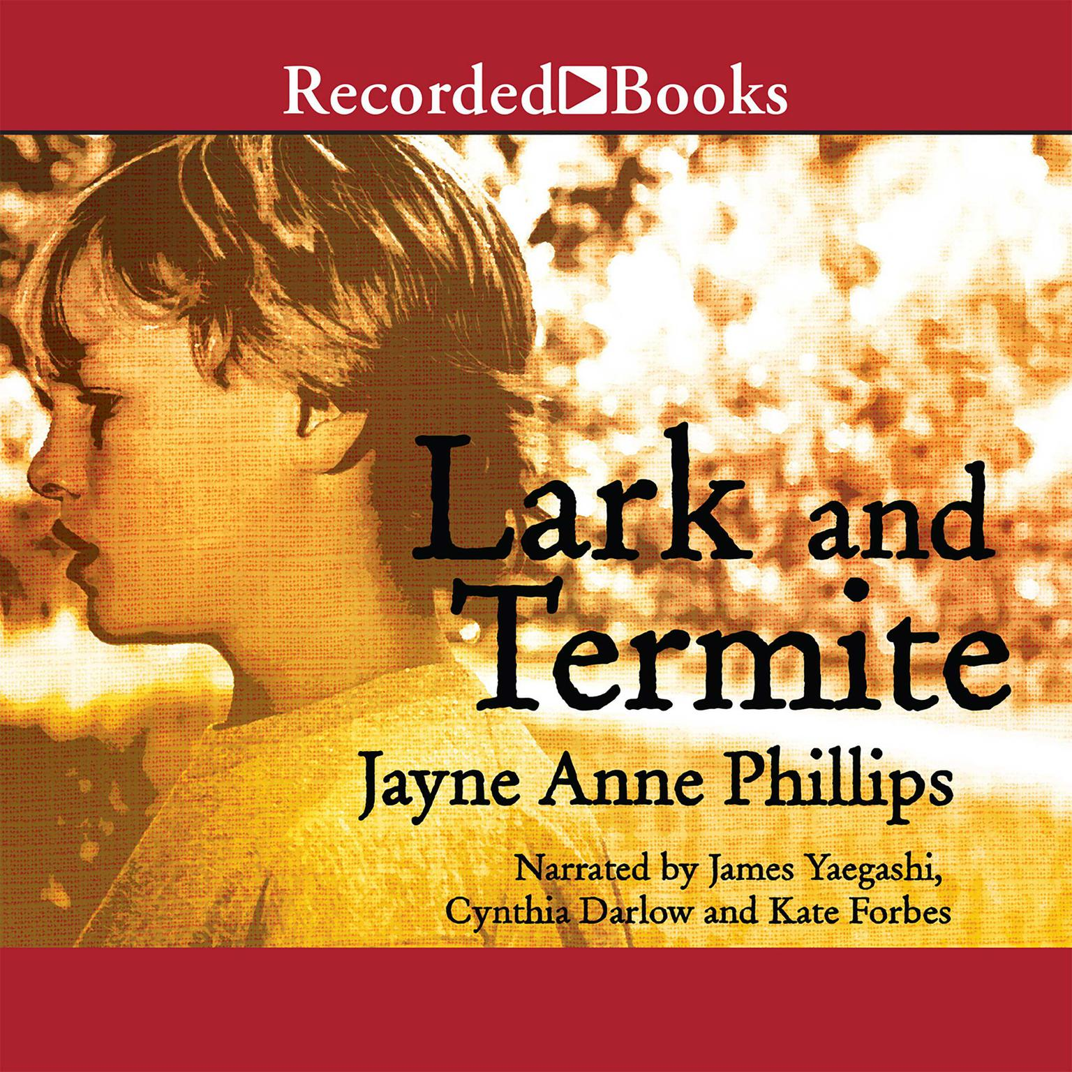 Printable Lark and Termite Audiobook Cover Art
