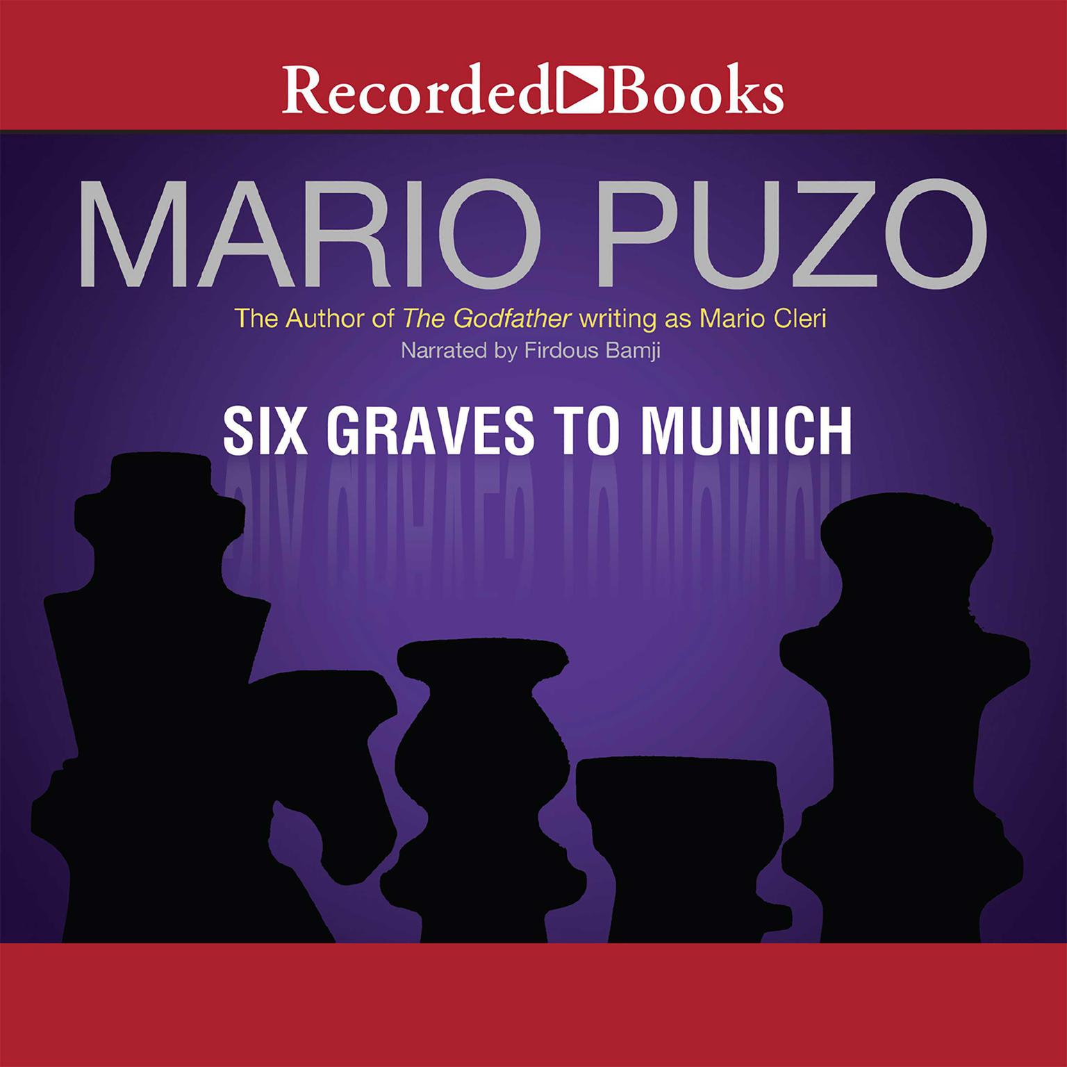 Printable Six Graves to Munich Audiobook Cover Art