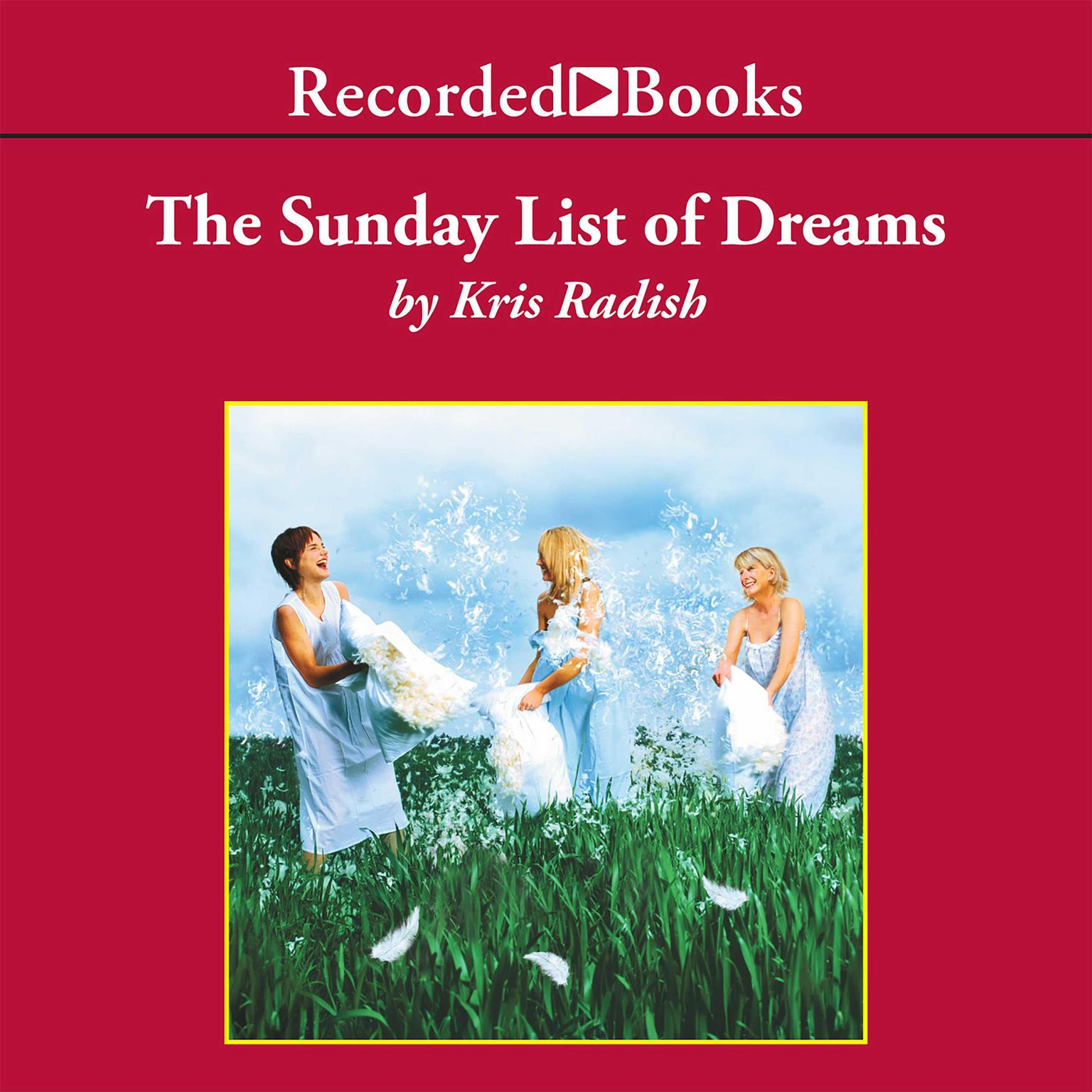 Printable The Sunday List of Dreams Audiobook Cover Art