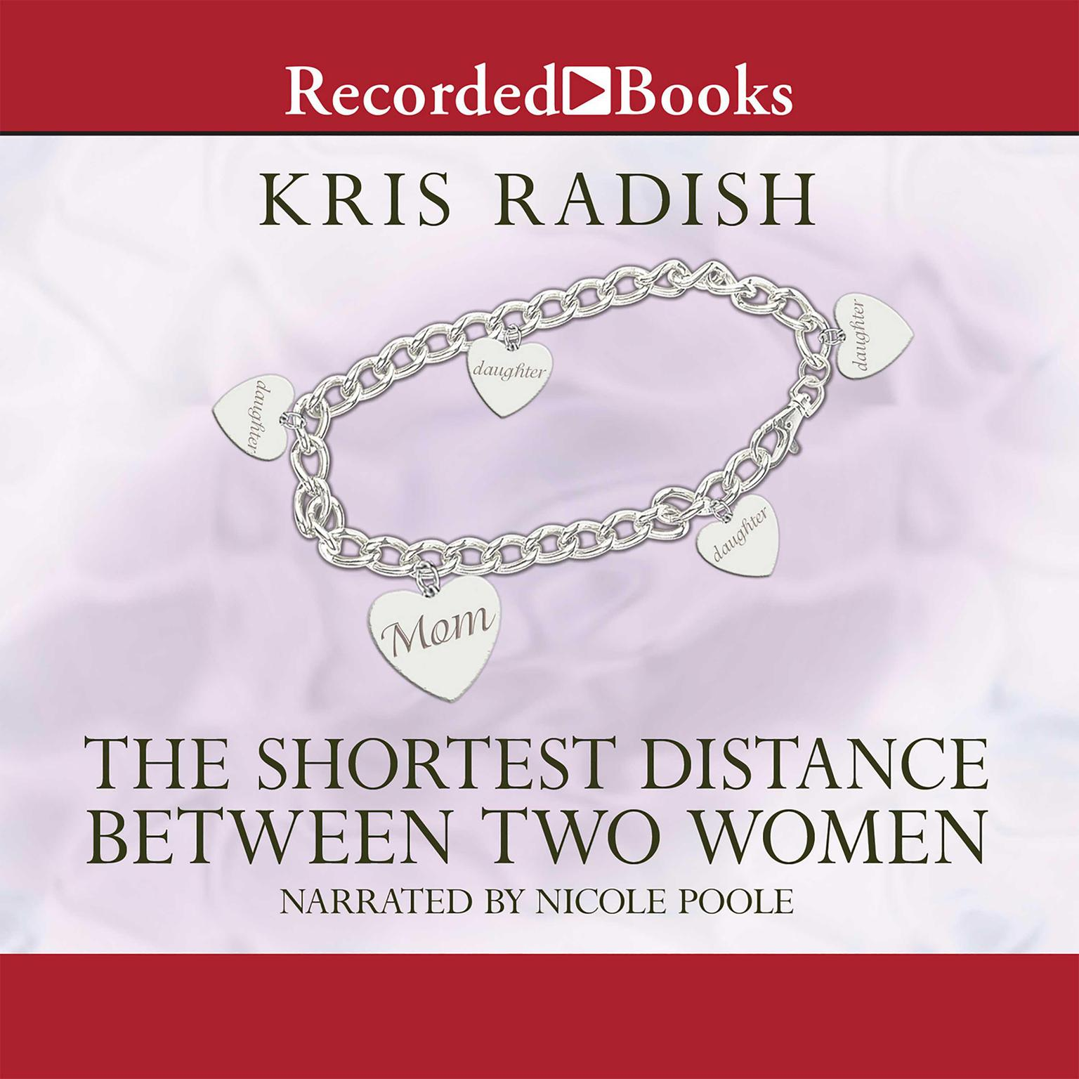 Printable The Shortest Distance Between Two Women Audiobook Cover Art