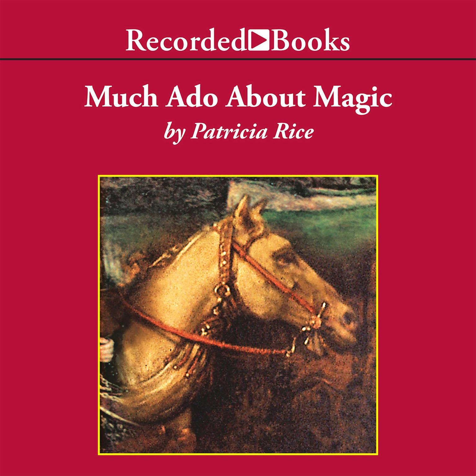Printable Much Ado About Magic Audiobook Cover Art