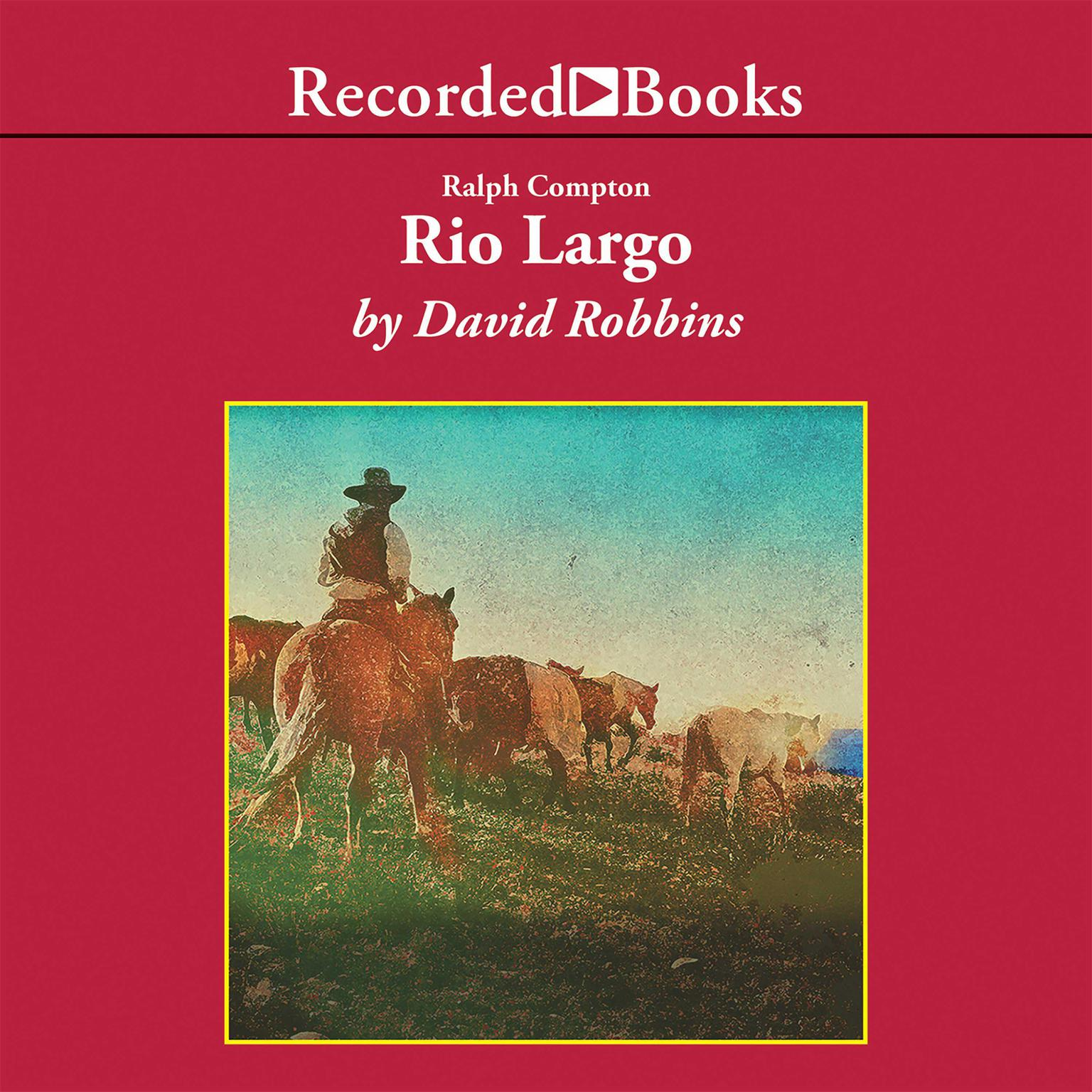 Printable Rio Largo Audiobook Cover Art