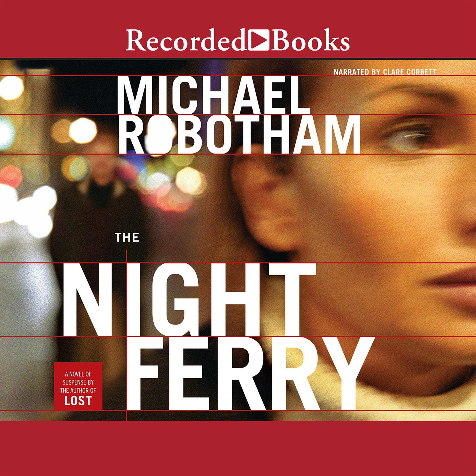 Printable The Night Ferry Audiobook Cover Art
