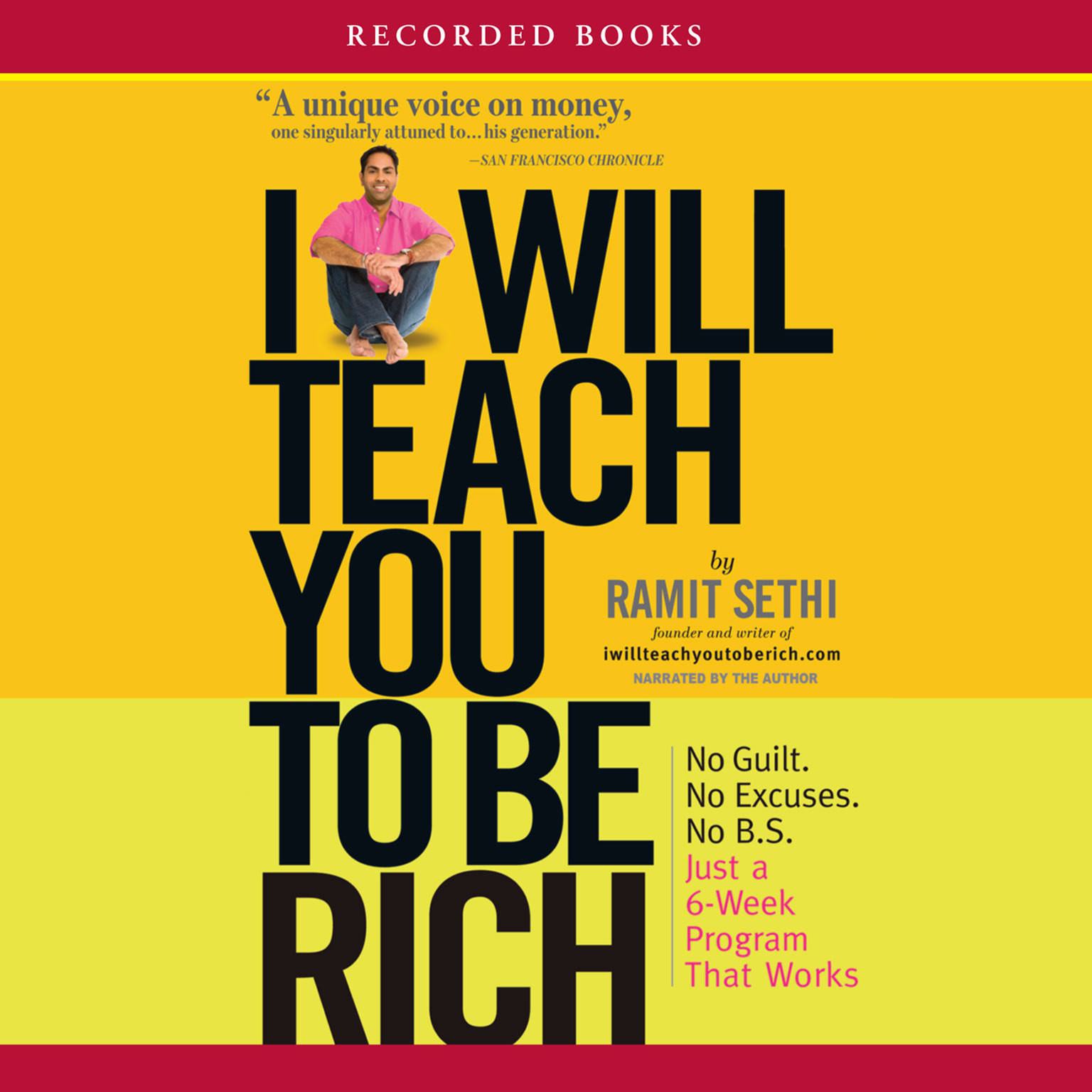 Printable I Will Teach You to Be Rich Audiobook Cover Art