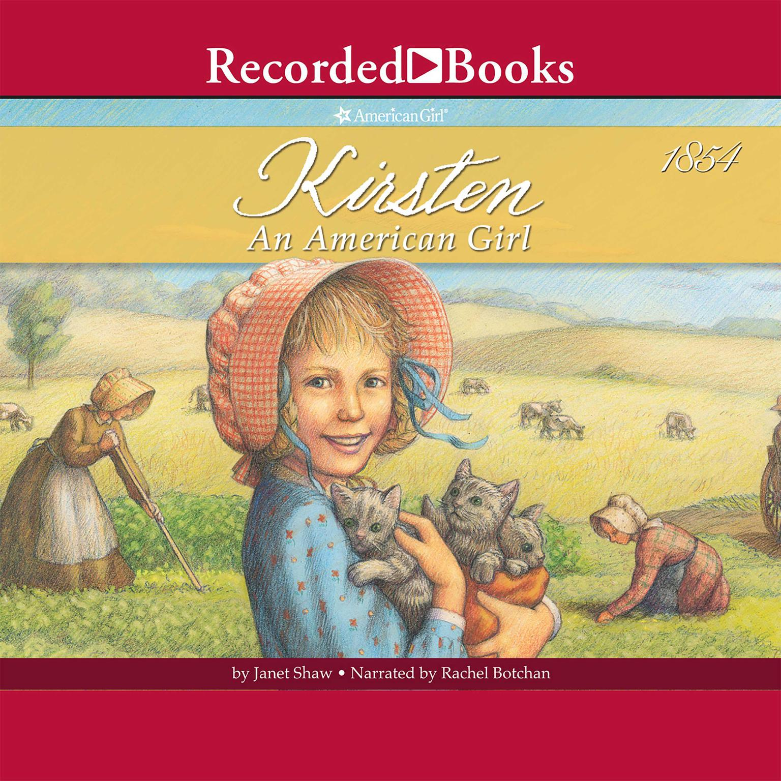 Printable Kirsten: An American Girl: Books 1–6 Audiobook Cover Art