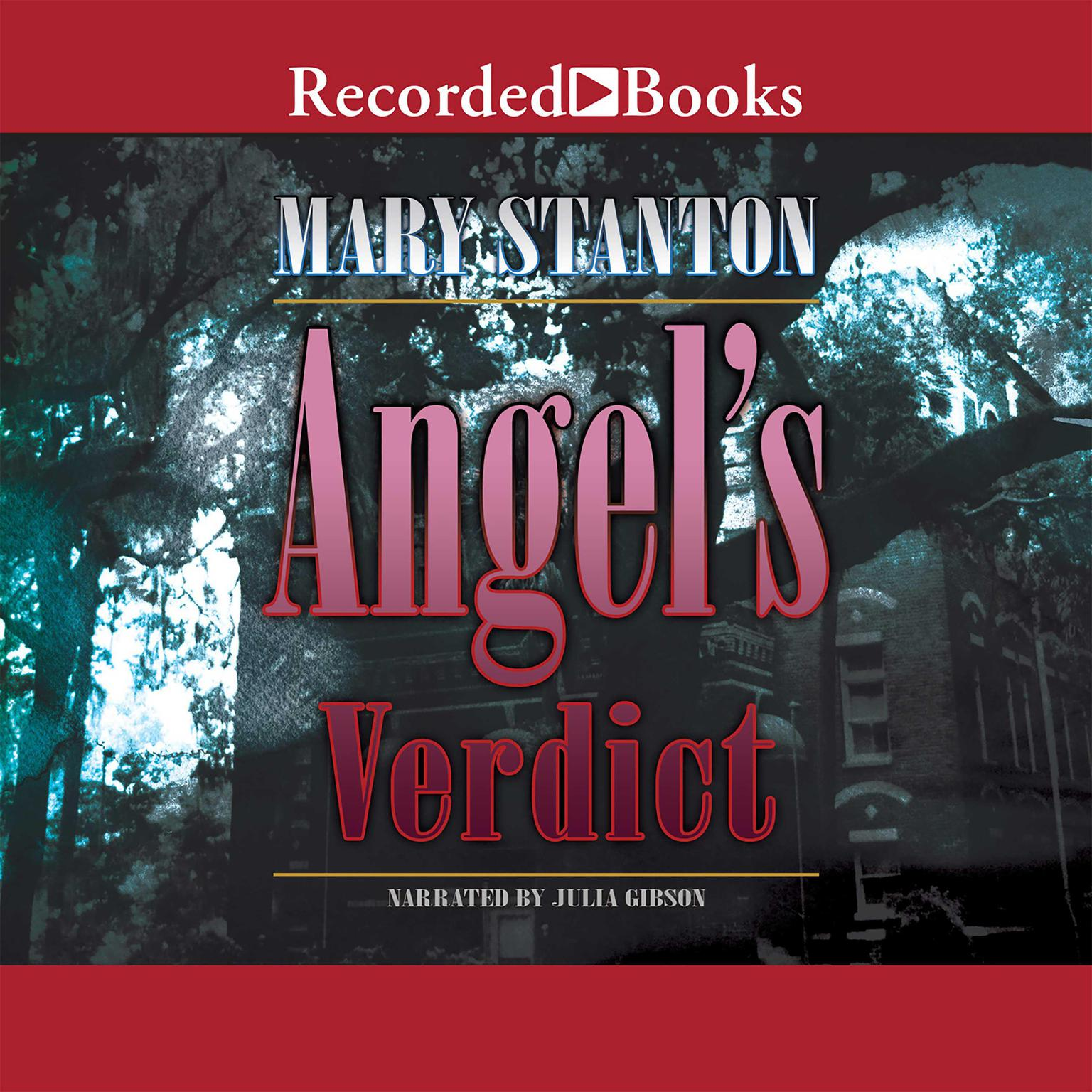 Printable Angel's Verdict Audiobook Cover Art