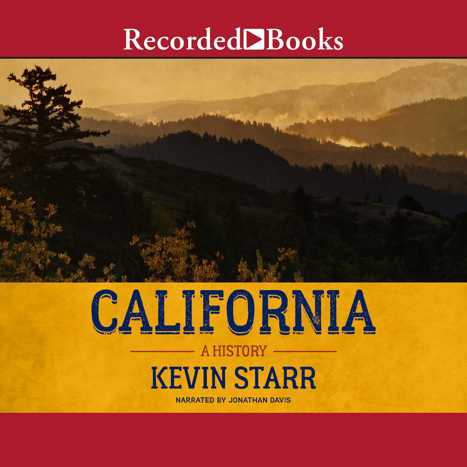 Printable California: A History Audiobook Cover Art
