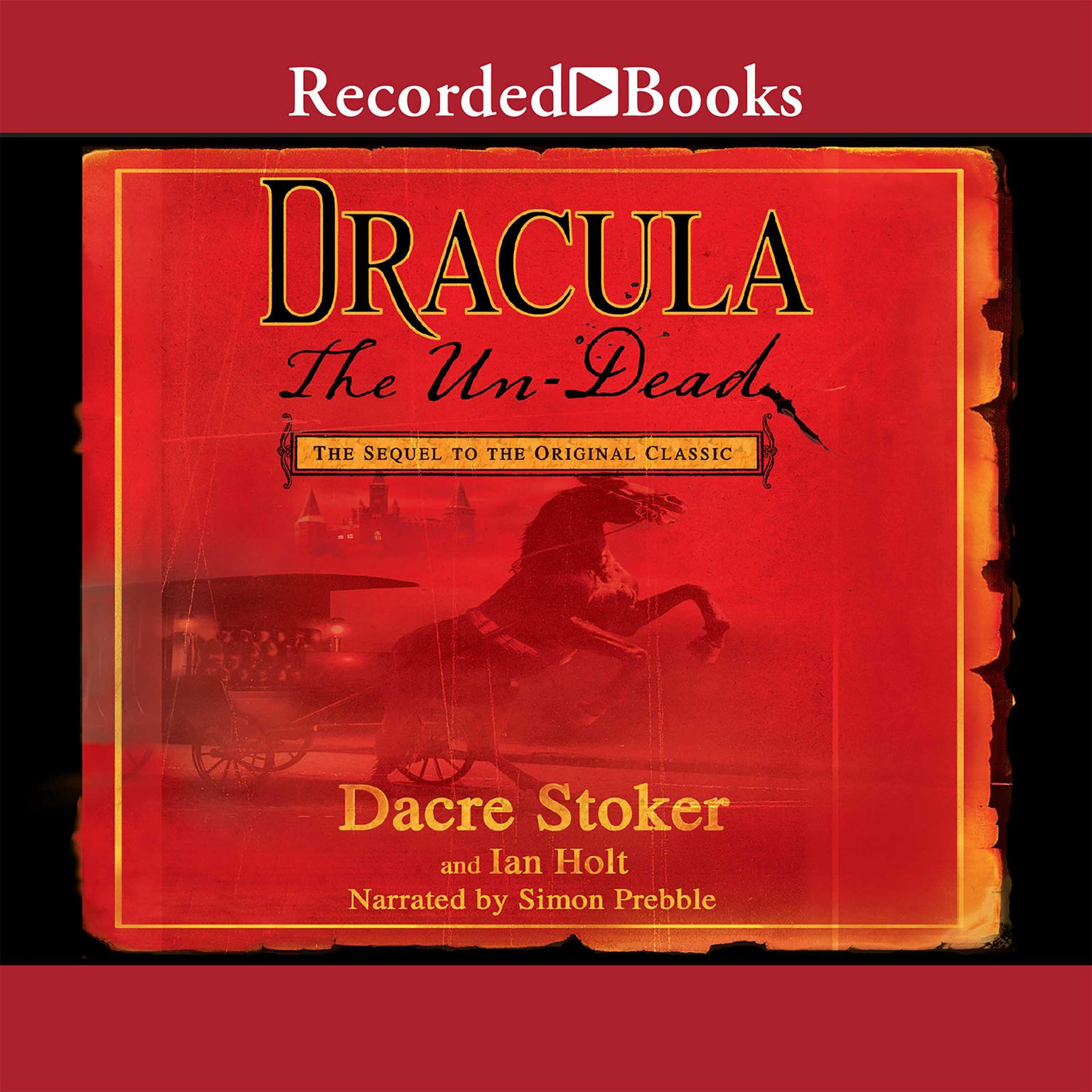 Printable Dracula: The Un-Dead Audiobook Cover Art