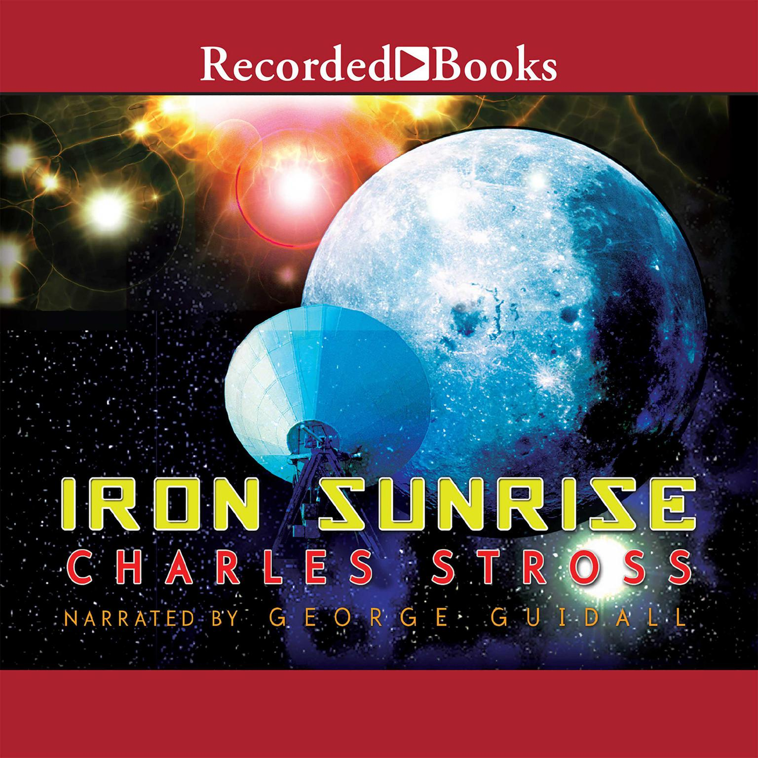 Printable Iron Sunrise Audiobook Cover Art