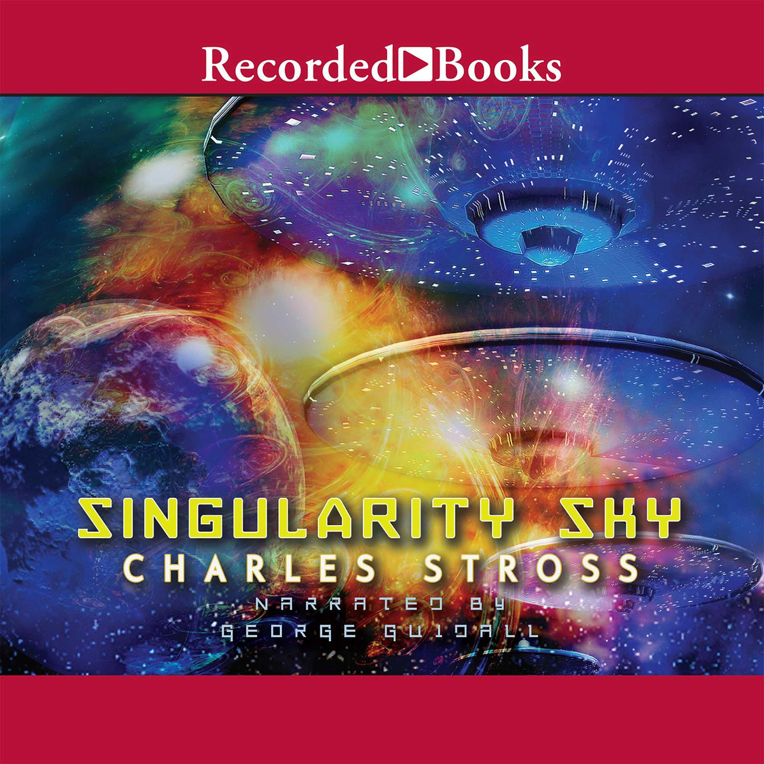 Printable Singularity Sky Audiobook Cover Art