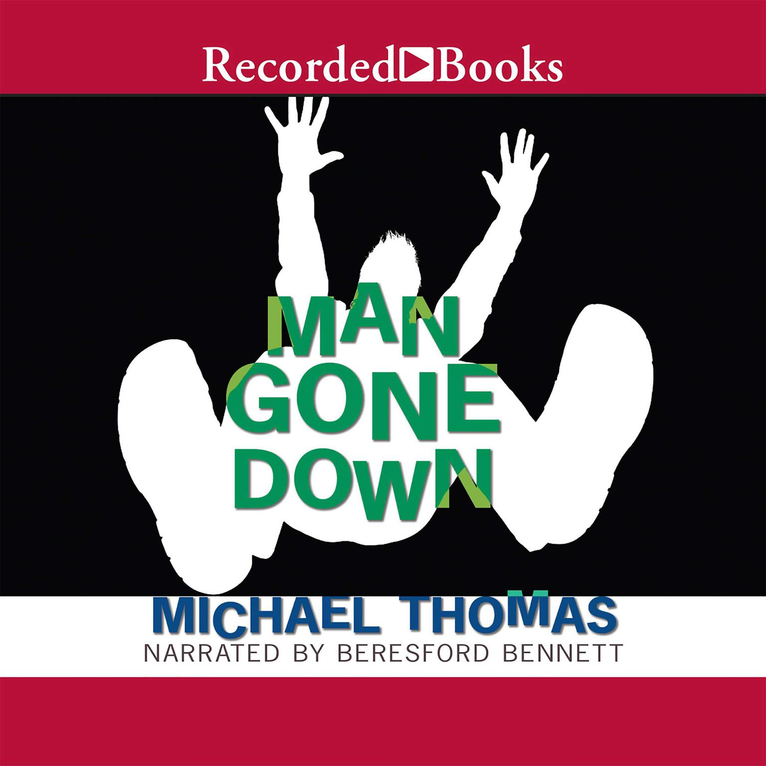 Printable Man Gone Down Audiobook Cover Art