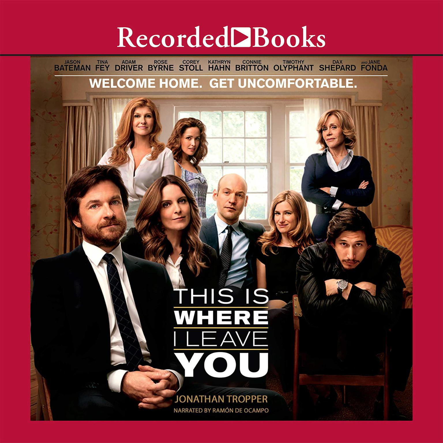 Printable This Is Where I Leave You Audiobook Cover Art