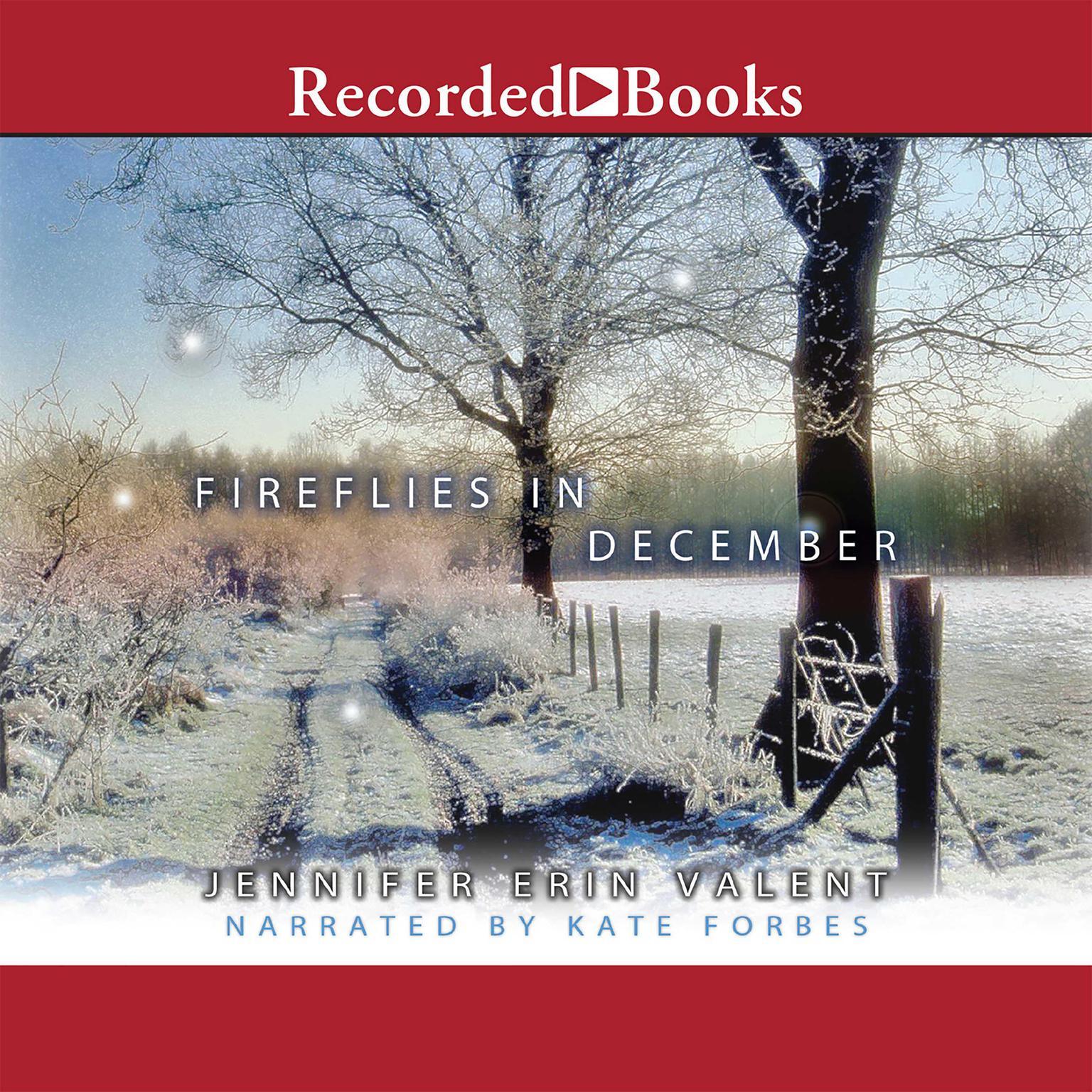 Printable Fireflies in December Audiobook Cover Art