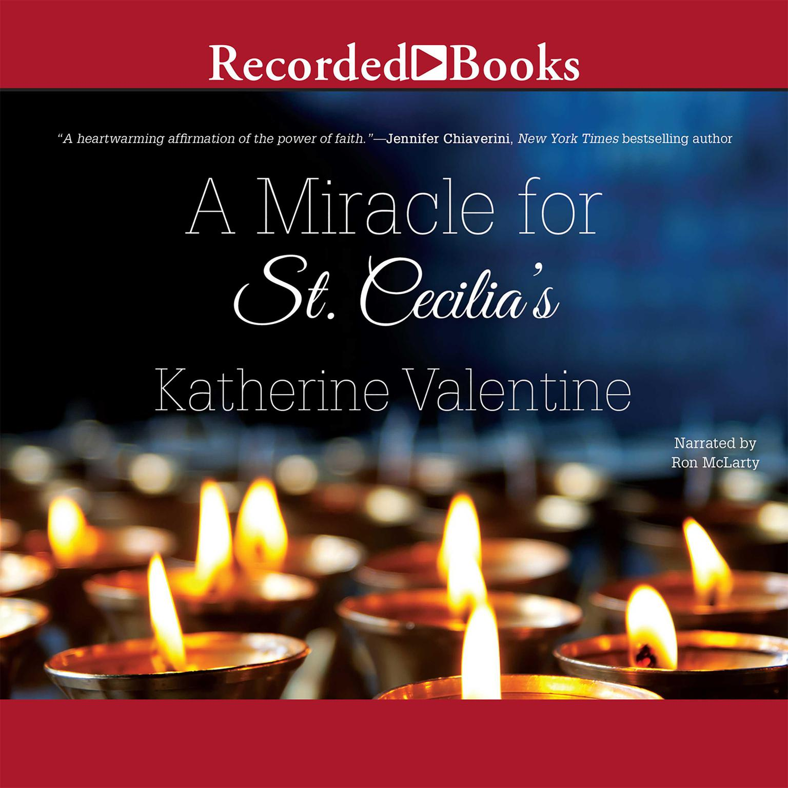 Printable A Miracle for St. Cecilia's Audiobook Cover Art