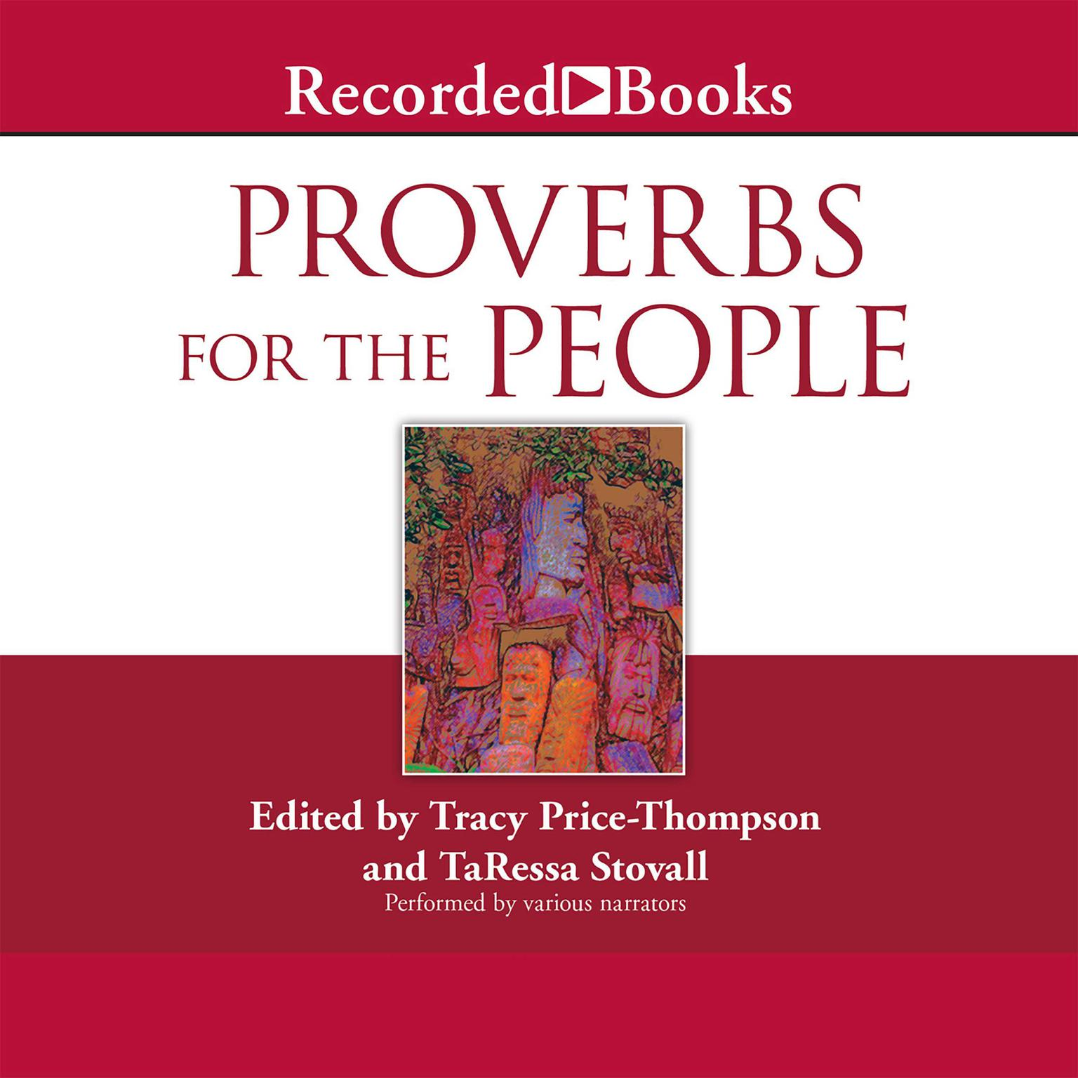 Printable Proverbs for the People Audiobook Cover Art