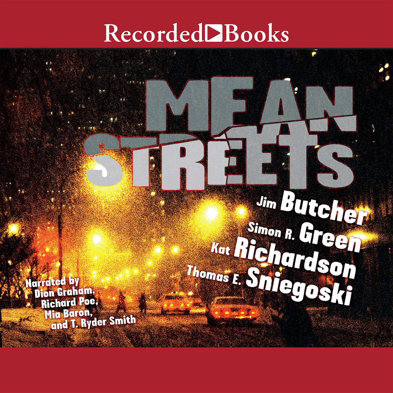 Printable Mean Streets Audiobook Cover Art