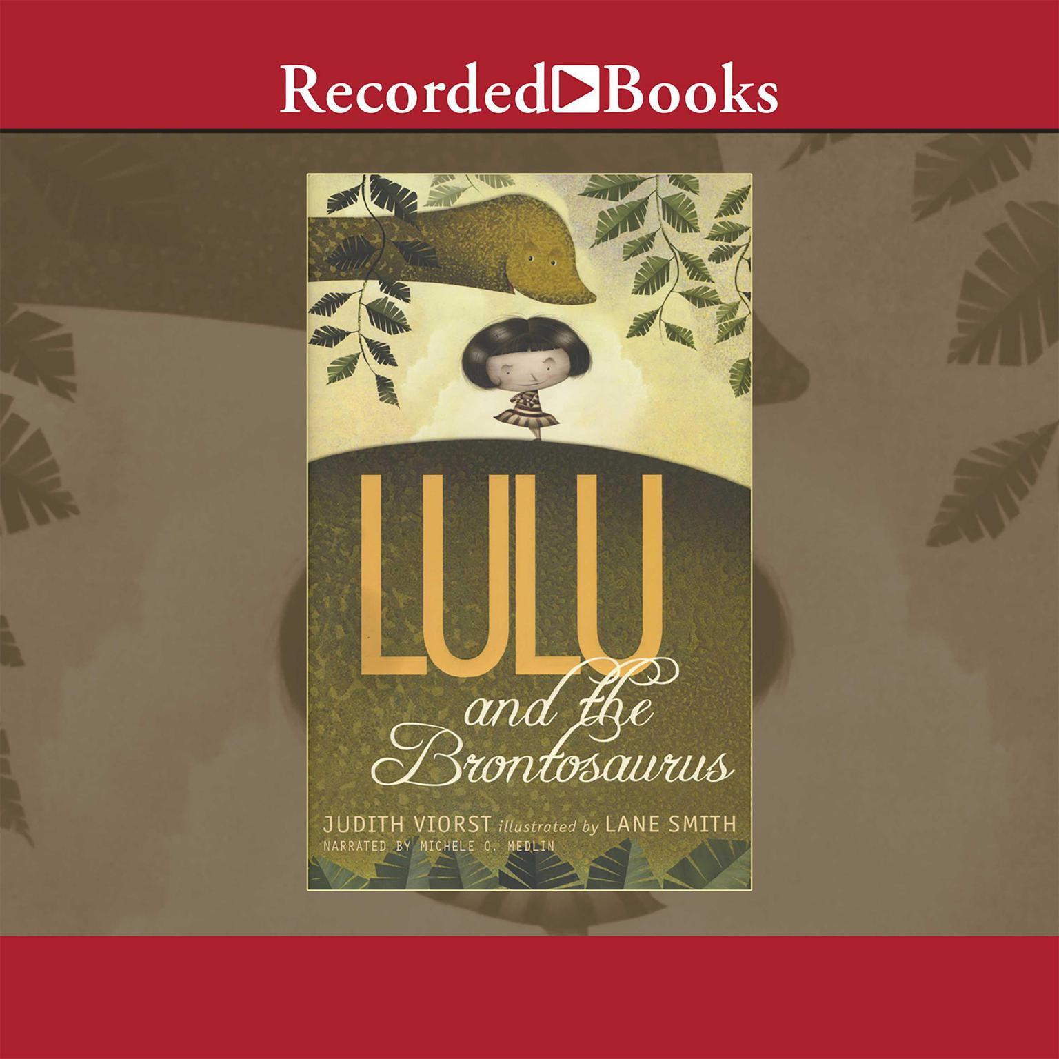 Printable Lulu and the Brontosaurus Audiobook Cover Art