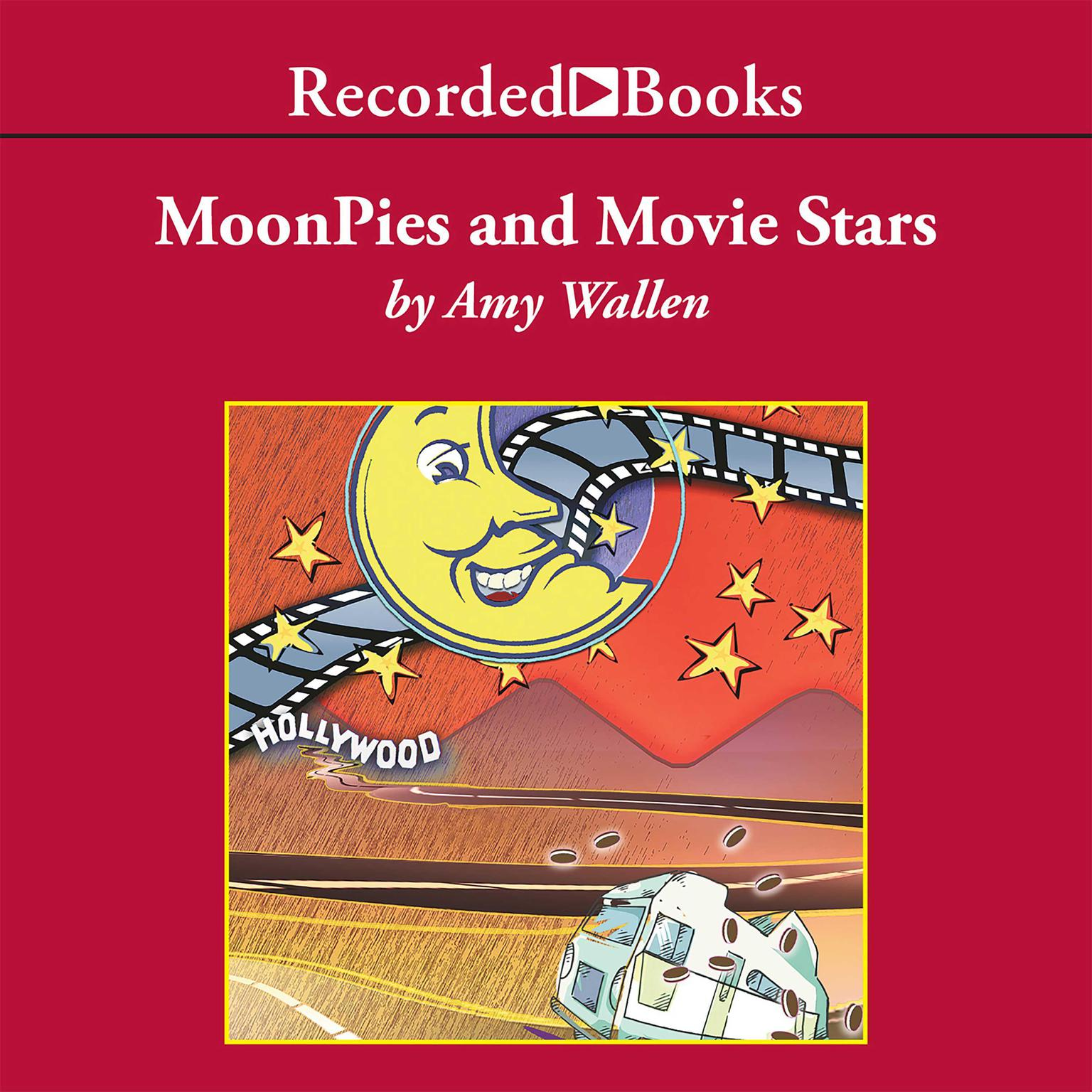 Printable MoonPies and Movie Stars Audiobook Cover Art
