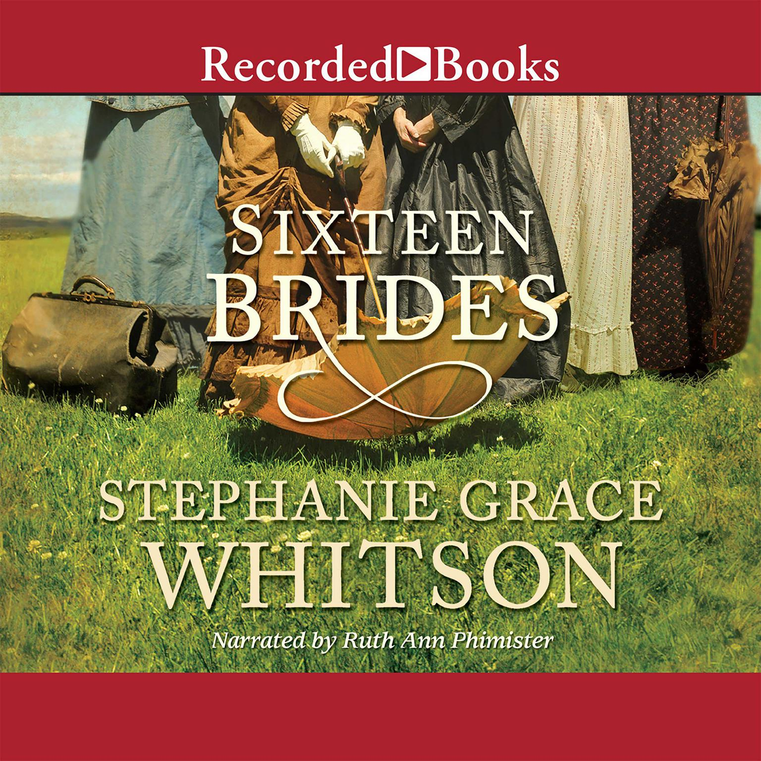 Printable Sixteen Brides Audiobook Cover Art