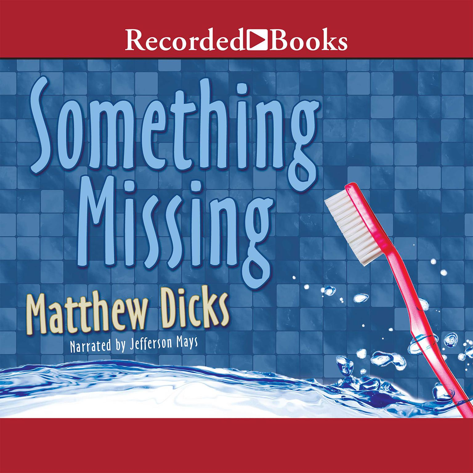 Printable Something Missing Audiobook Cover Art