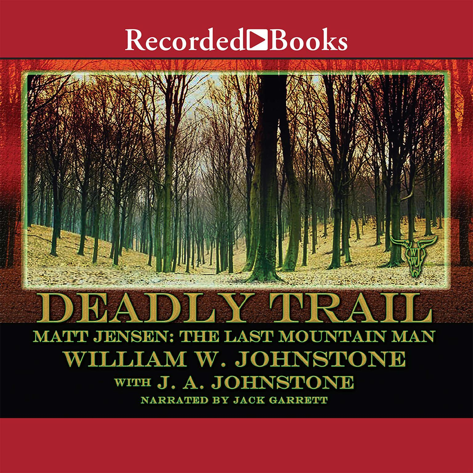 Printable Deadly Trail Audiobook Cover Art