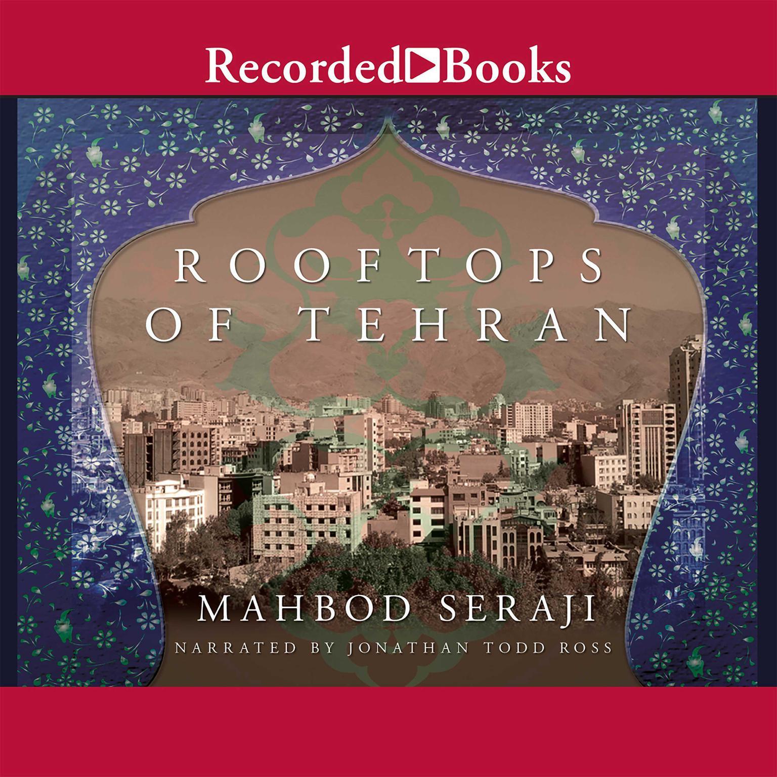Printable Rooftops of Tehran Audiobook Cover Art